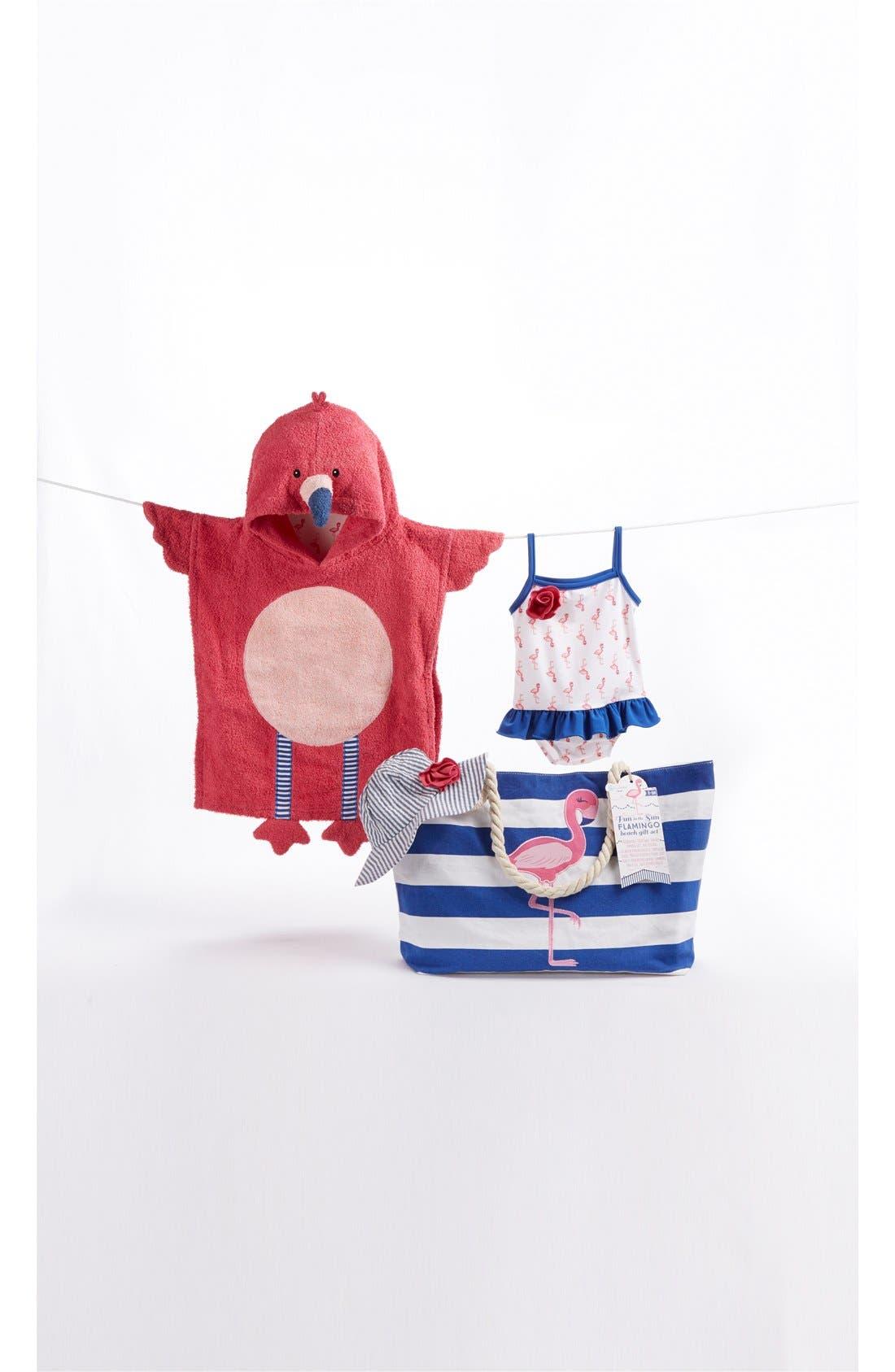 Nautical 4-Piece Gift Set,                         Main,                         color, PINK/ BLUE