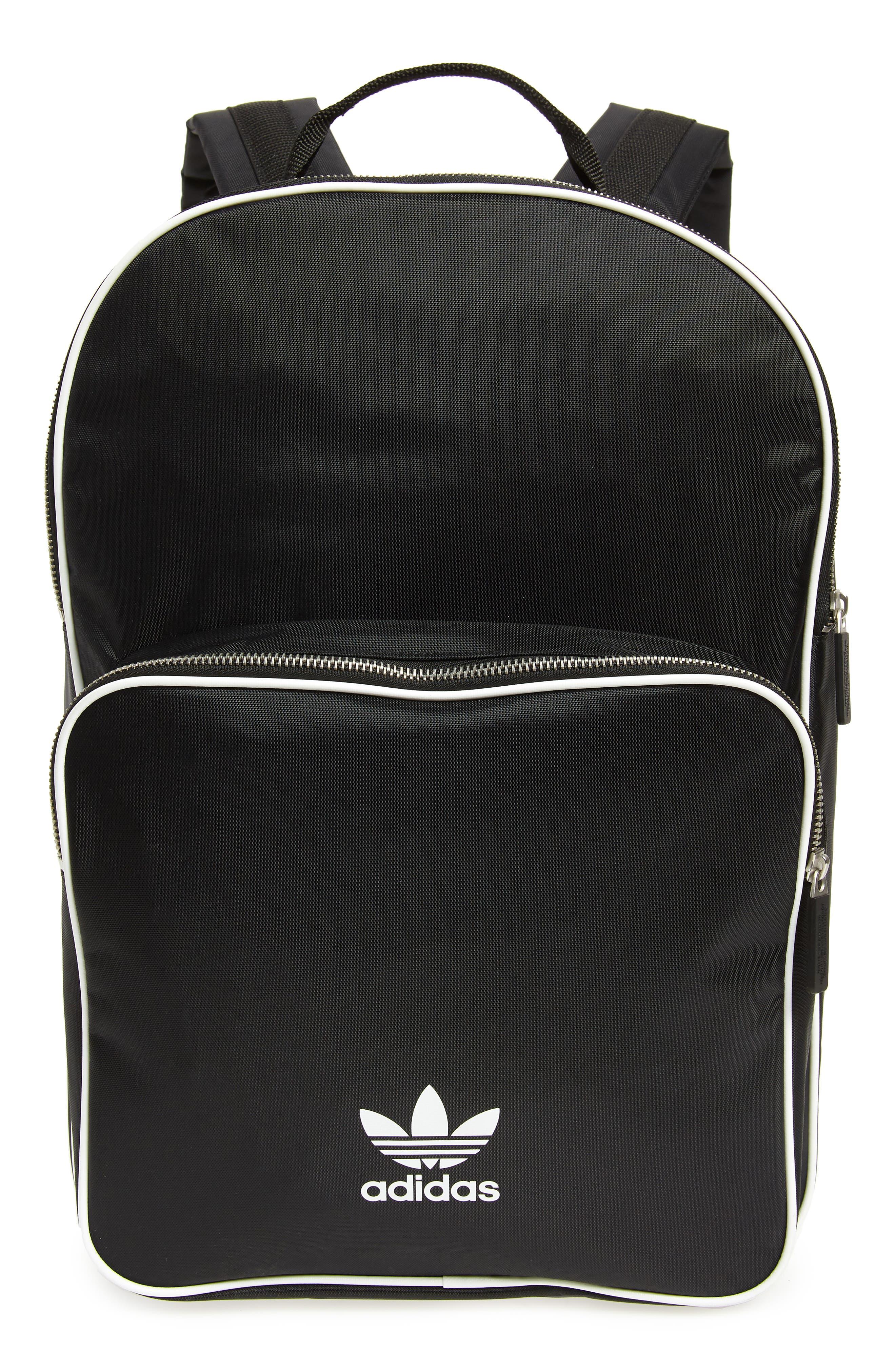 Adicolor Backpack,                             Main thumbnail 1, color,                             BLACK