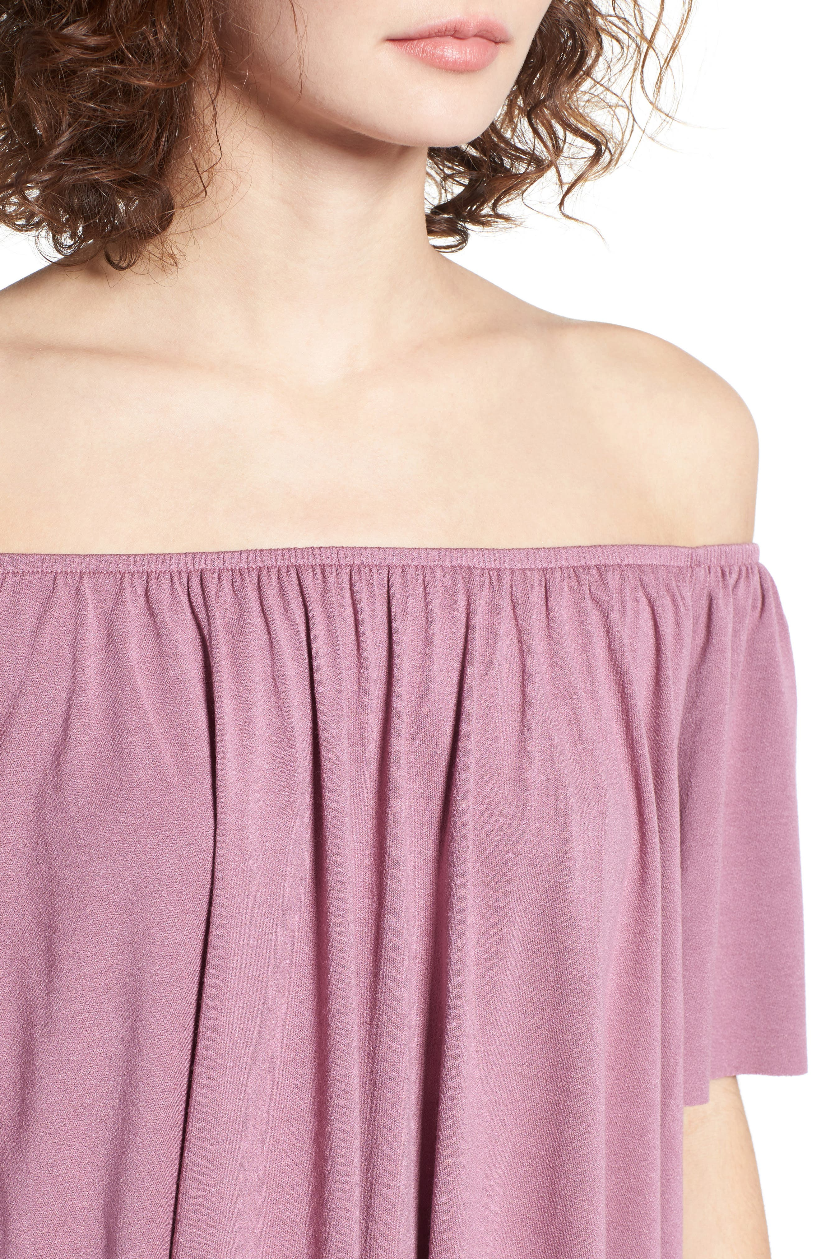 Off the Shoulder Top,                             Alternate thumbnail 29, color,