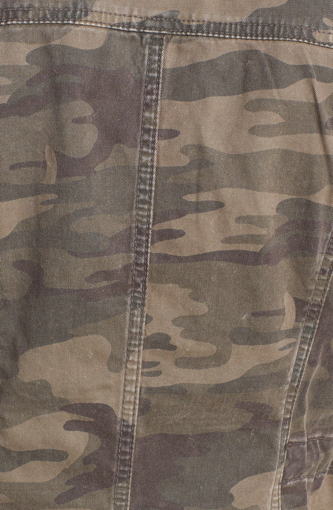 Camouflage Print Jacket,                             Alternate thumbnail 3, color,                             278