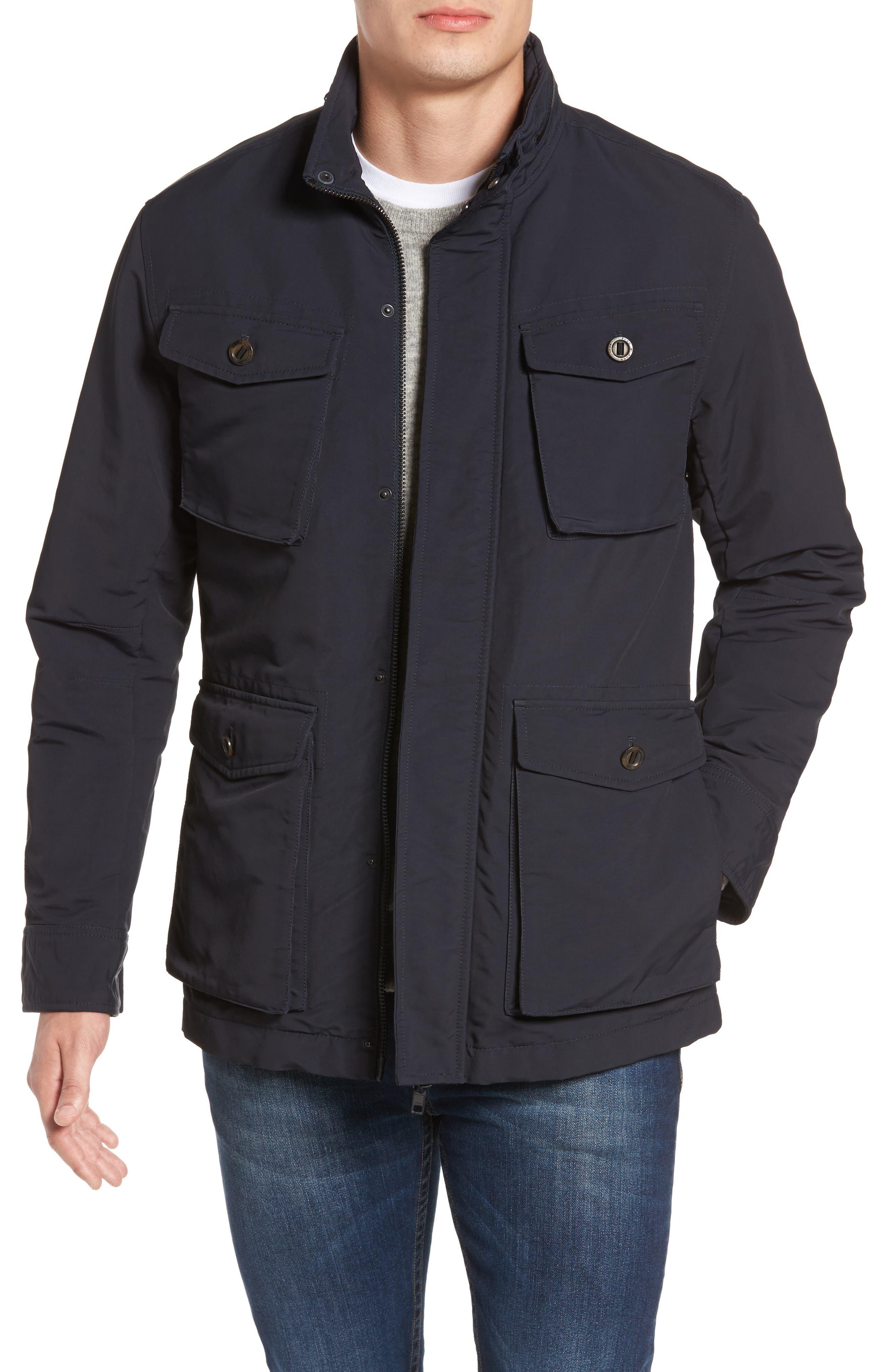 Bendigo Utility Jacket,                         Main,                         color, ECLIPSE