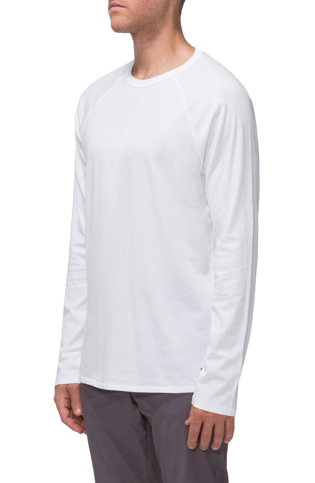 'Covert II' Raglan Long Sleeve T-Shirt,                             Alternate thumbnail 6, color,