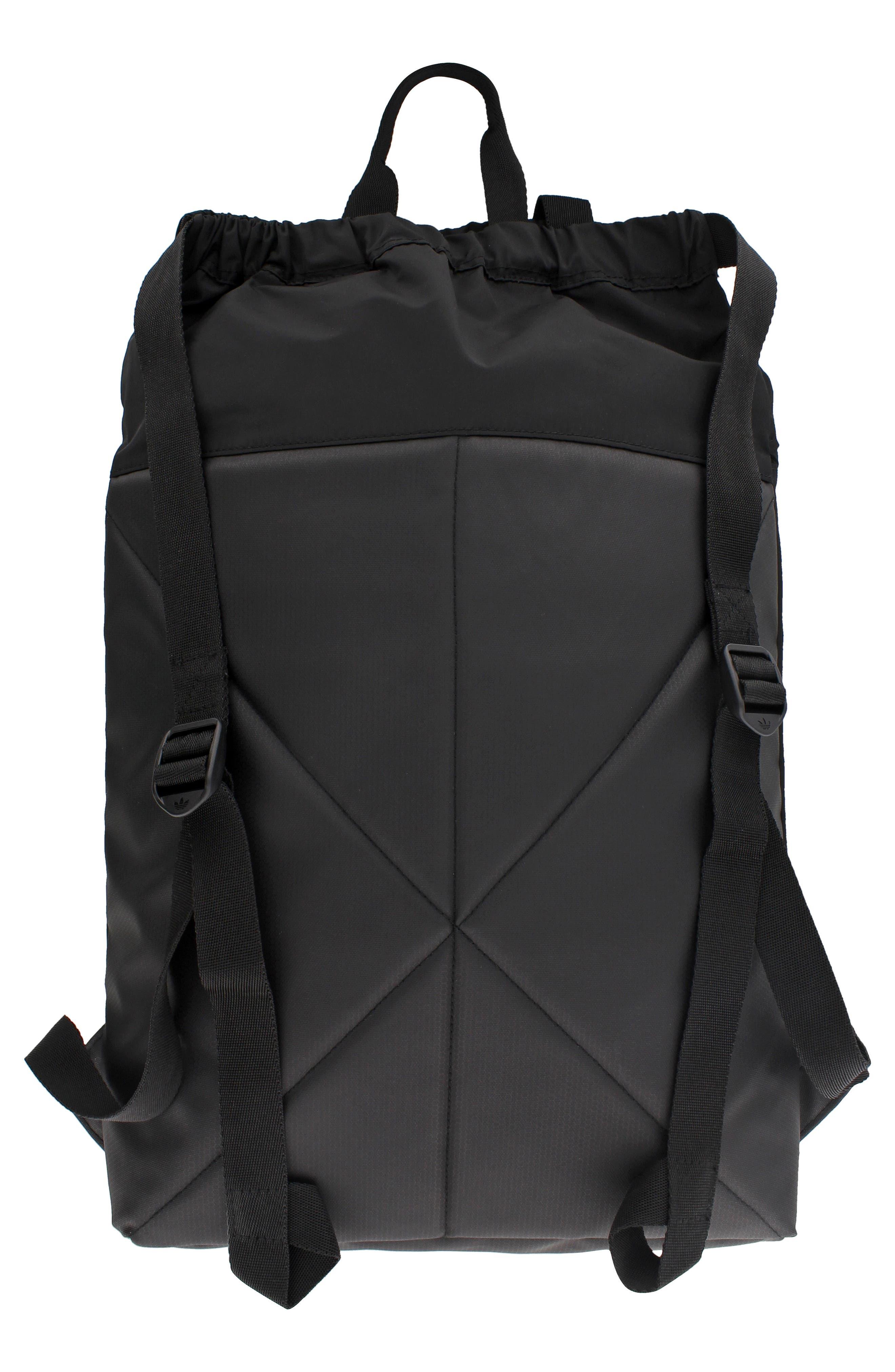 NMD Sack Pack,                             Alternate thumbnail 4, color,                             BLACK