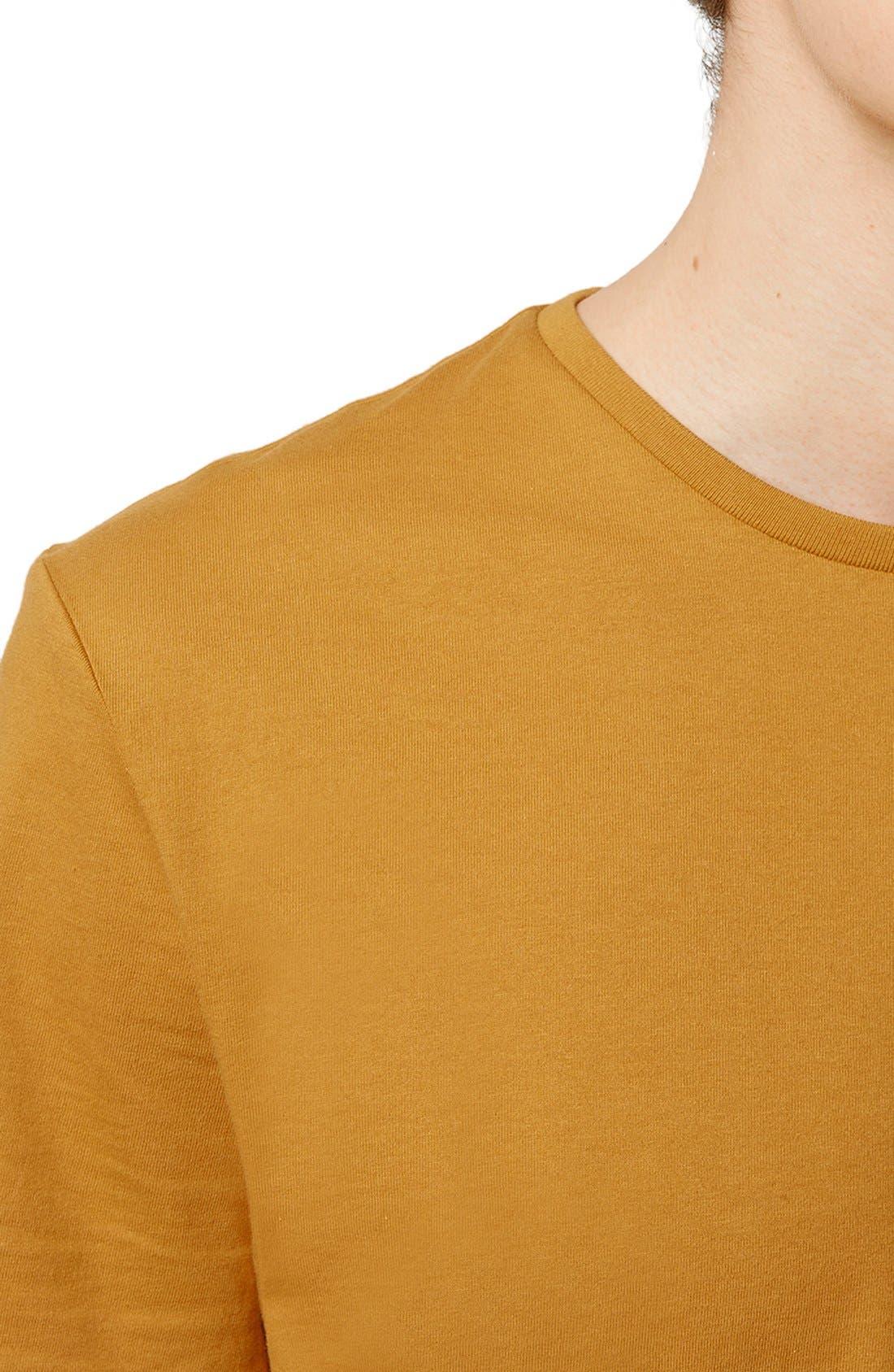 Slim Fit Crewneck T-Shirt,                             Alternate thumbnail 281, color,
