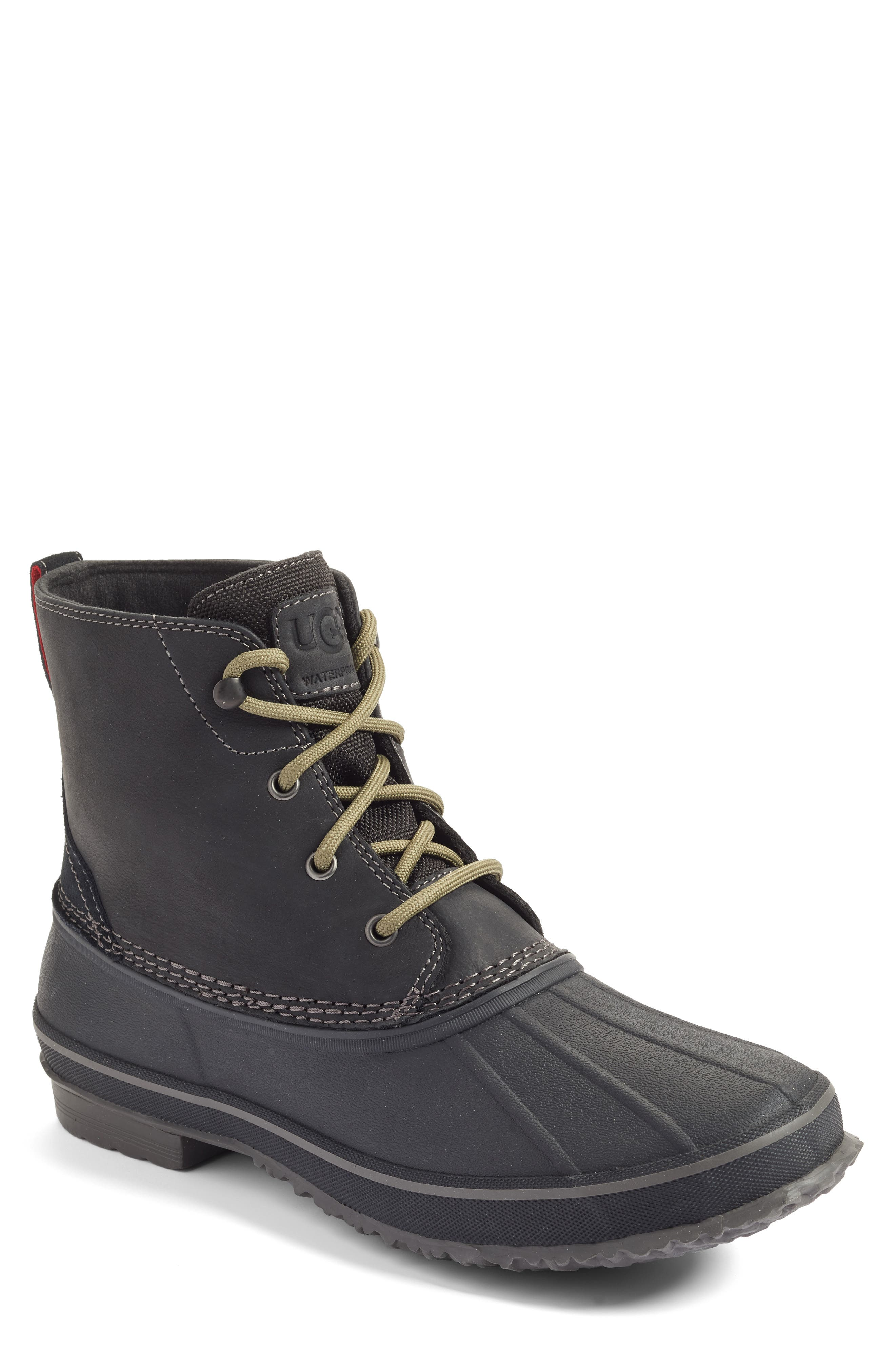 Ugg Zetik Waterproof Rain Boot- Black