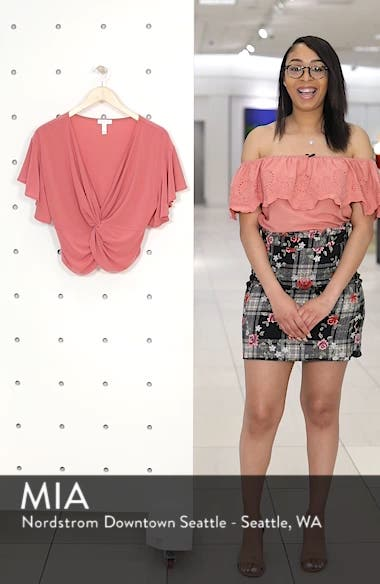 Knot Front Top, sales video thumbnail