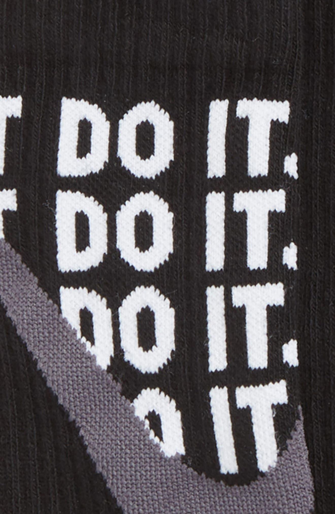 NIKE,                             Performance 3-Pack Cushioned Crew Socks,                             Alternate thumbnail 2, color,                             026