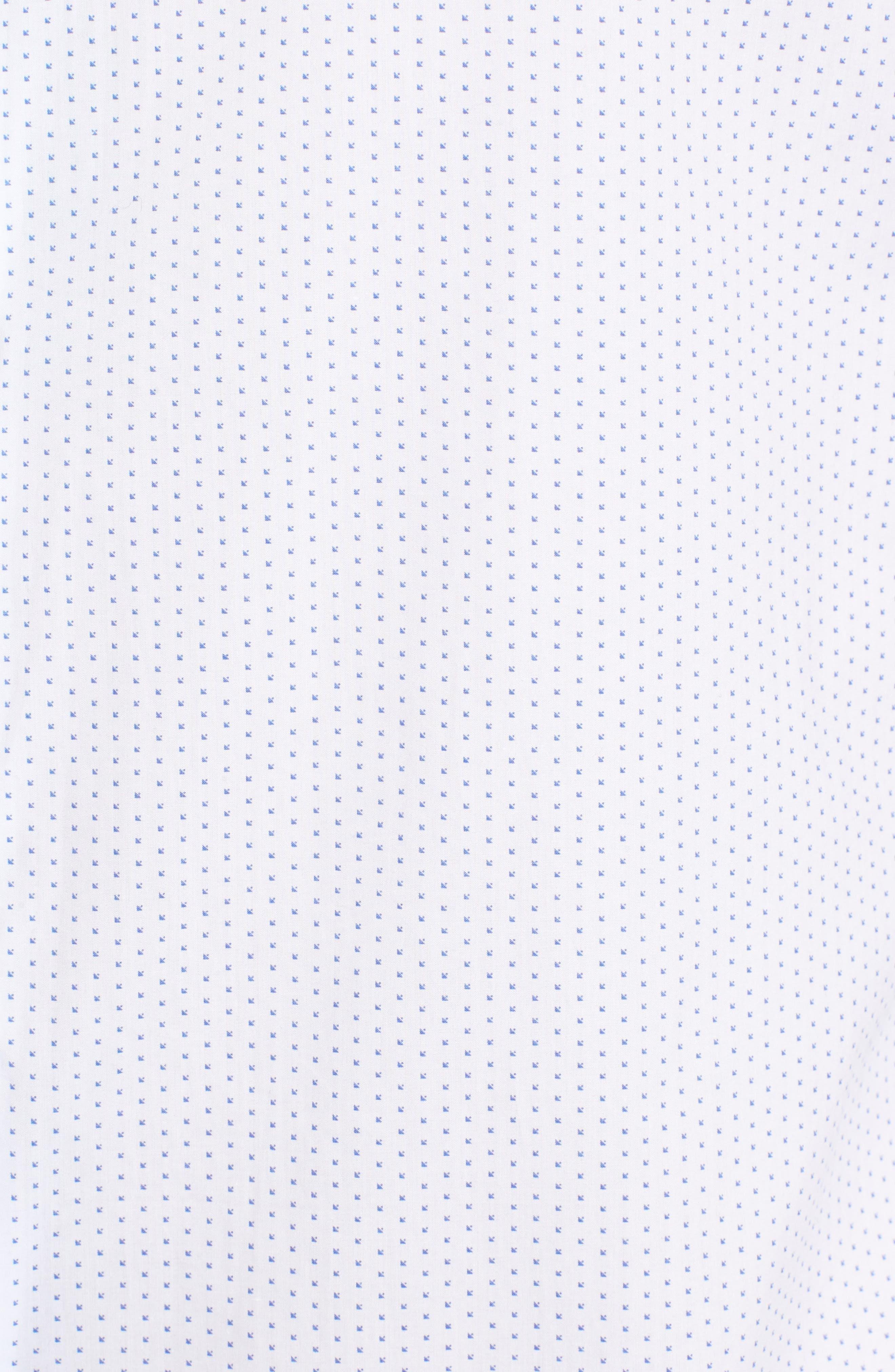Murray Slim Fit Sport Shirt,                             Alternate thumbnail 5, color,                             100
