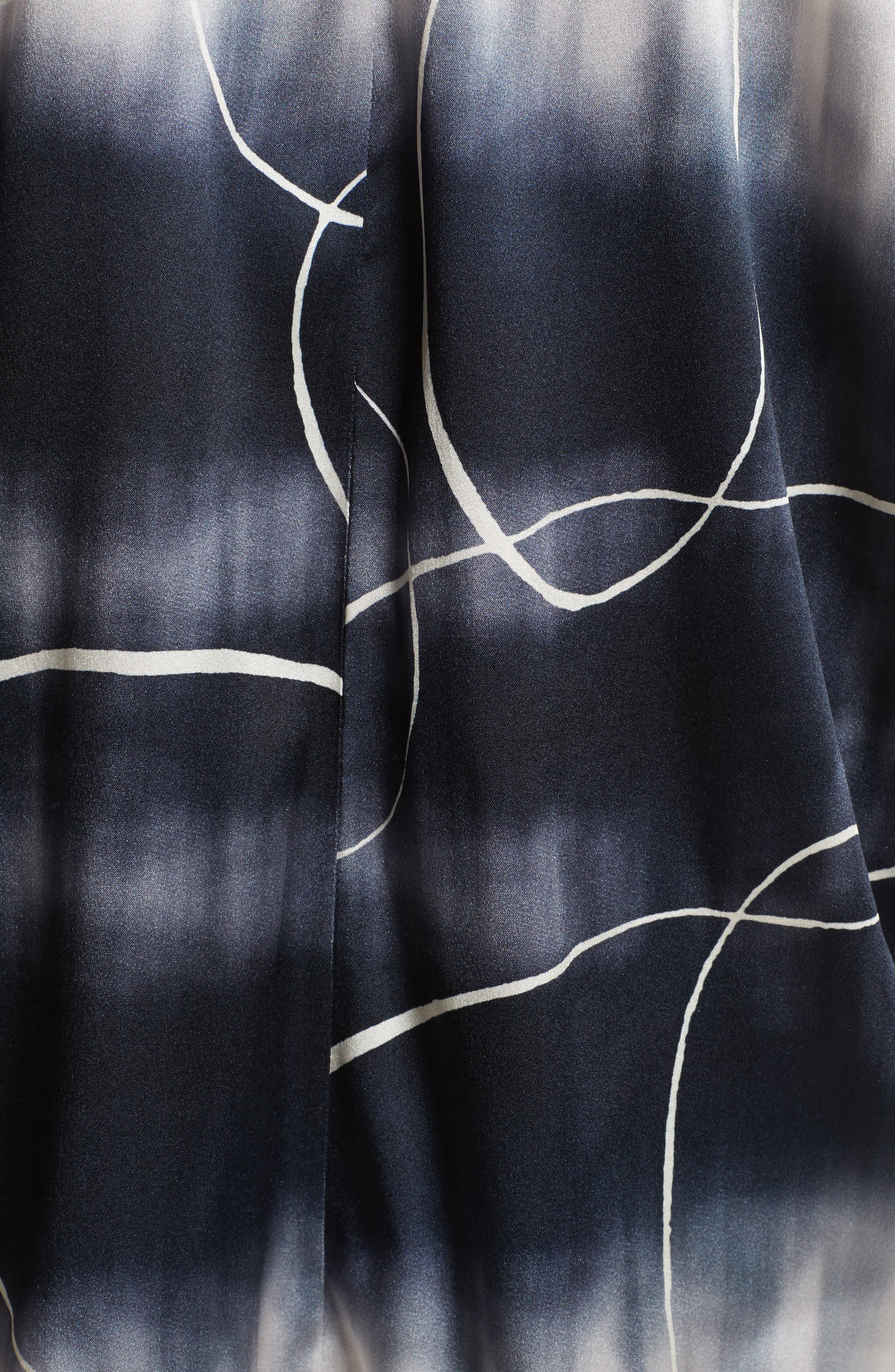 Ani Elliott X-Ray Stretch Silk Tank,                             Alternate thumbnail 5, color,                             100