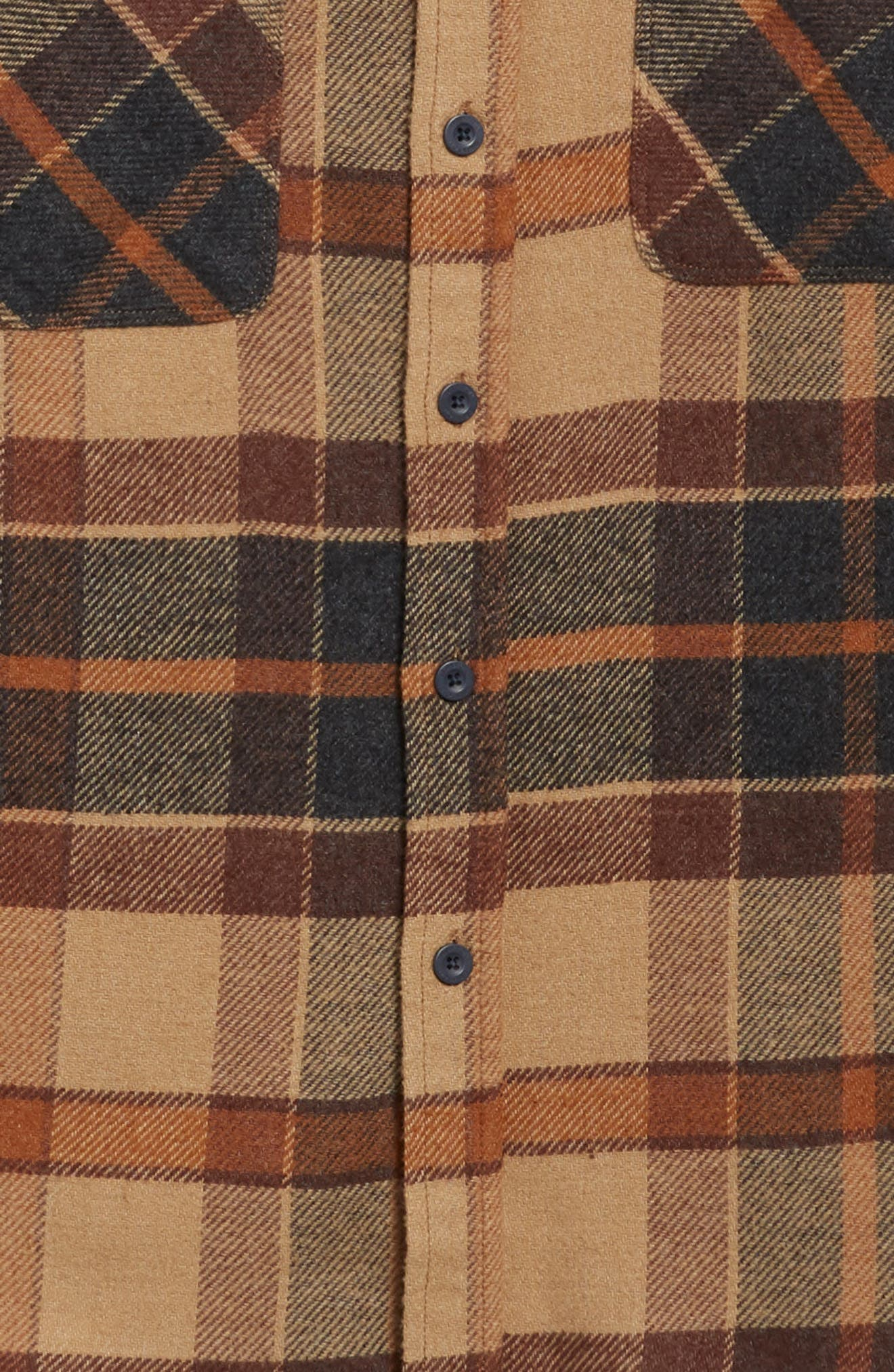 Bowery Flannel Shirt,                             Alternate thumbnail 50, color,
