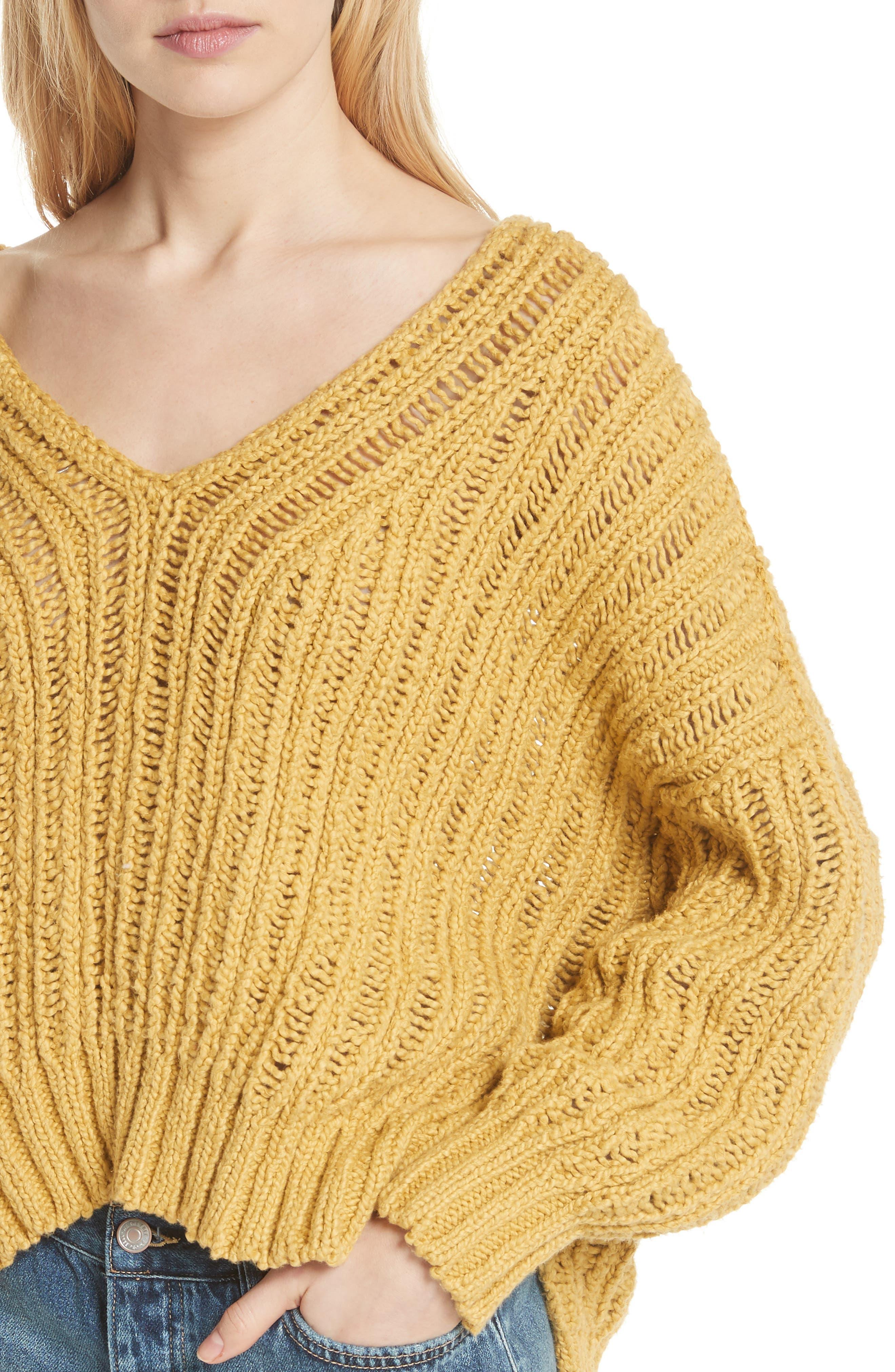 Infinite V-Neck Sweater,                             Alternate thumbnail 11, color,