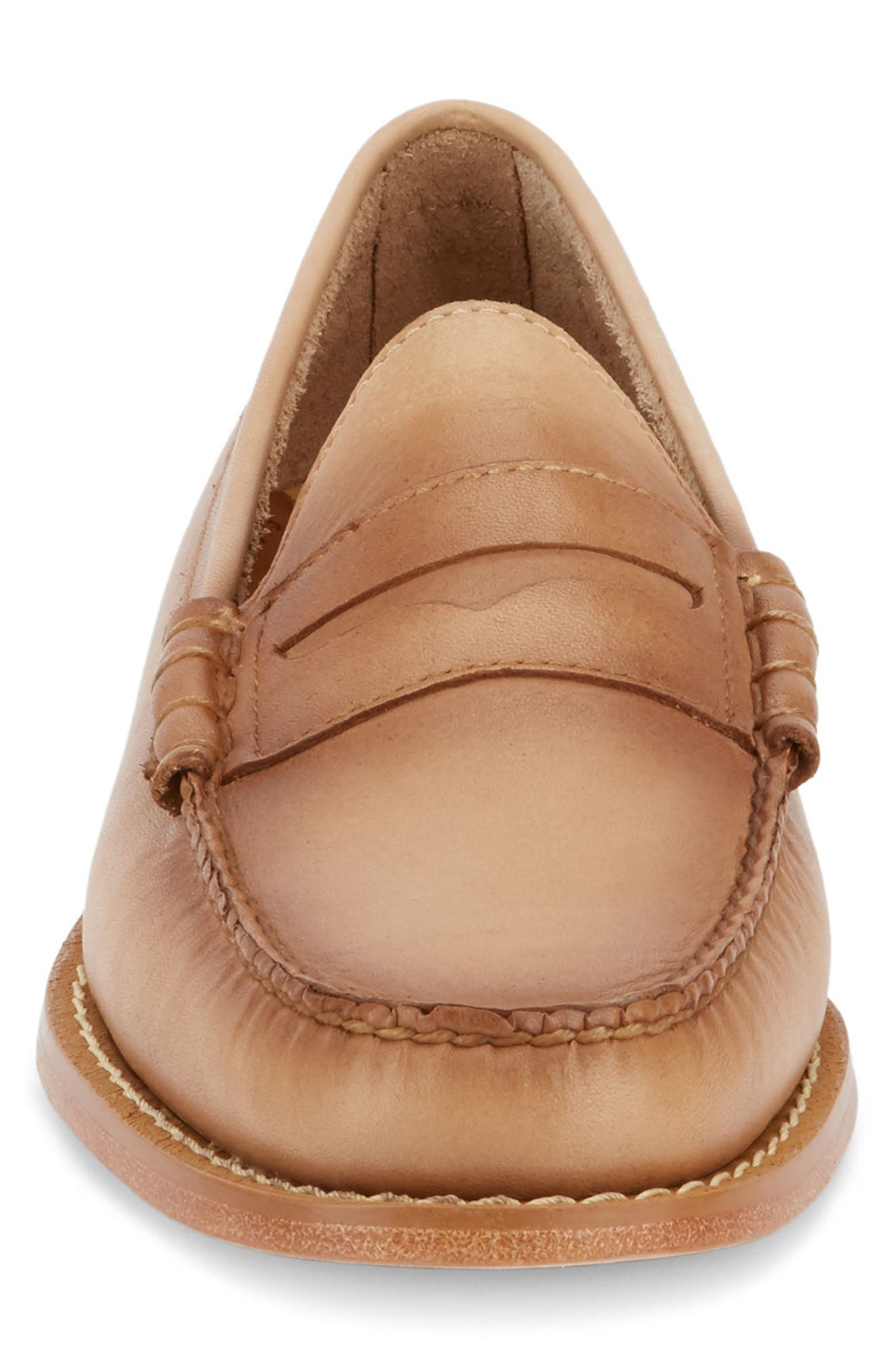 'Larson - Weejuns' Penny Loafer,                             Alternate thumbnail 4, color,                             VACHETTA LEATHER