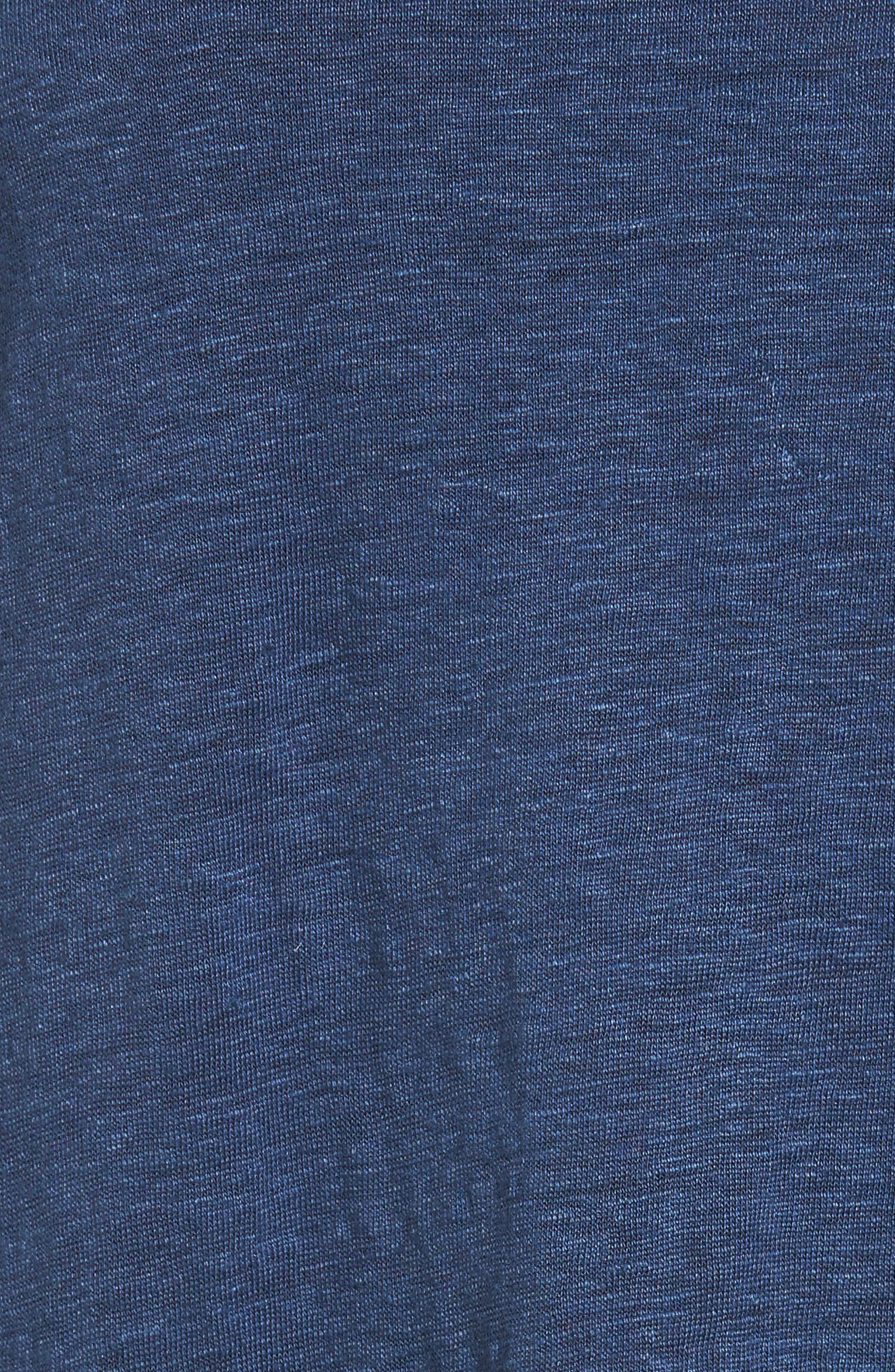 Bateau Neck Organic Linen Tunic,                             Alternate thumbnail 72, color,
