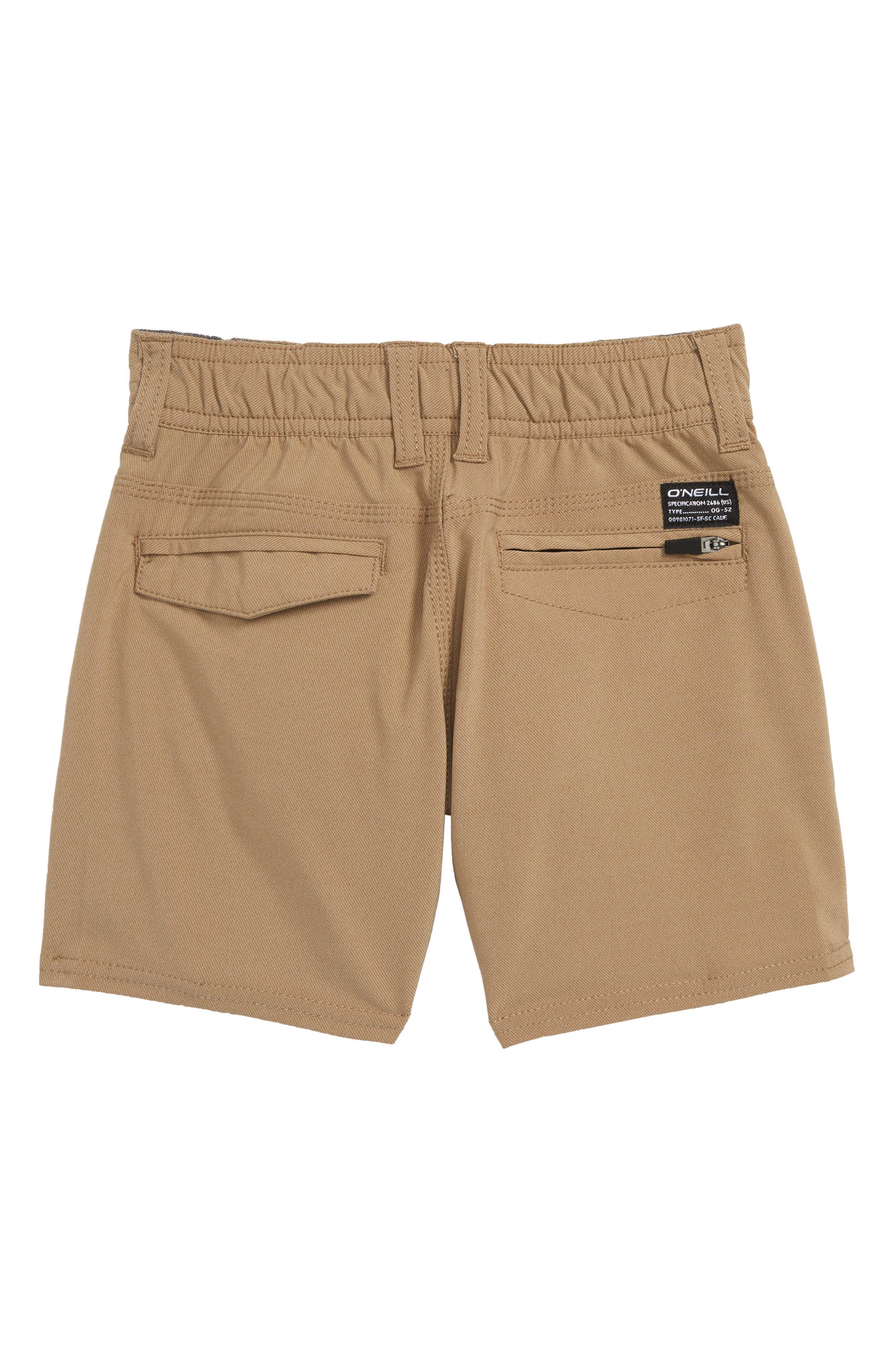 Stockton Hybrid Shorts,                             Alternate thumbnail 2, color,                             KHAKI