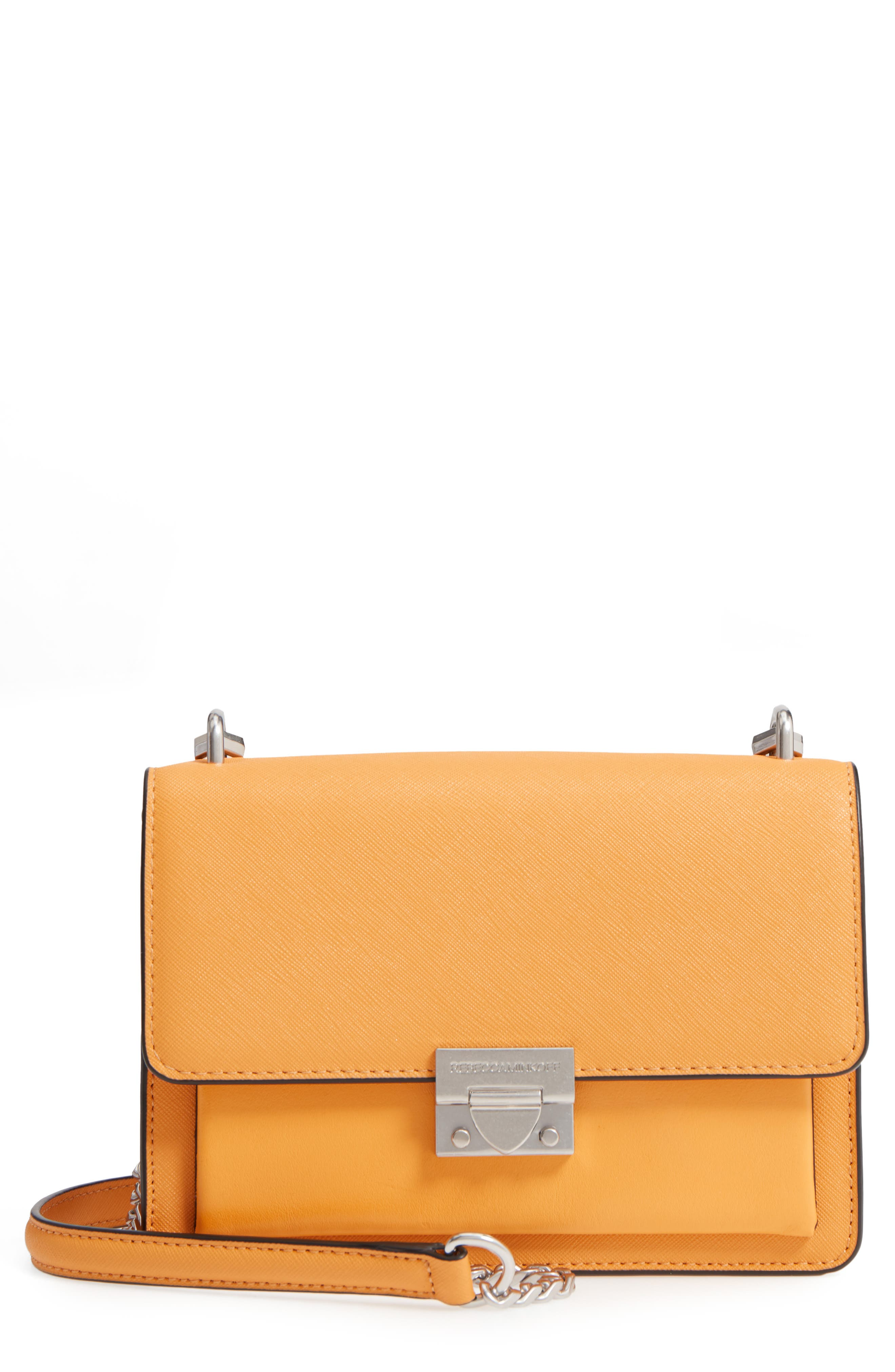 Medium Christy Leather Shoulder Bag,                             Main thumbnail 2, color,