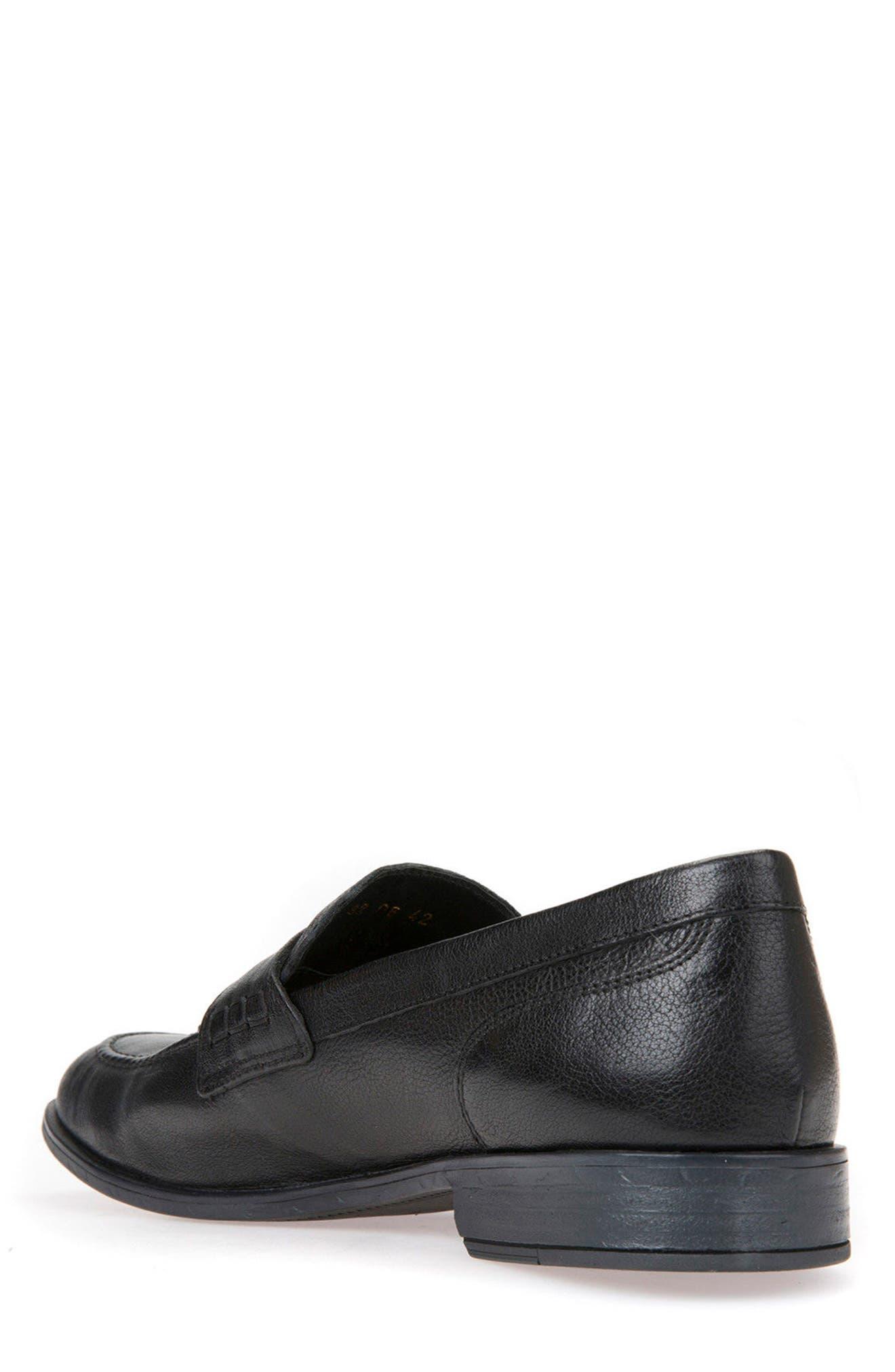 Bryceton 4 Tassel Loafer,                             Alternate thumbnail 2, color,                             BLACK LEATHER