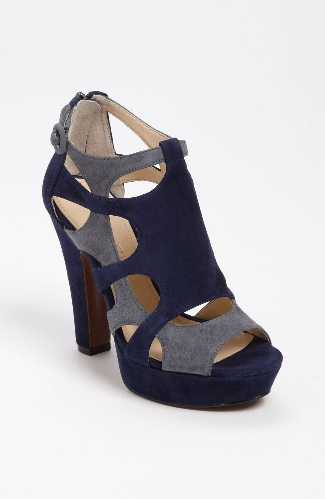 Caged Sandal,                         Main,                         color,