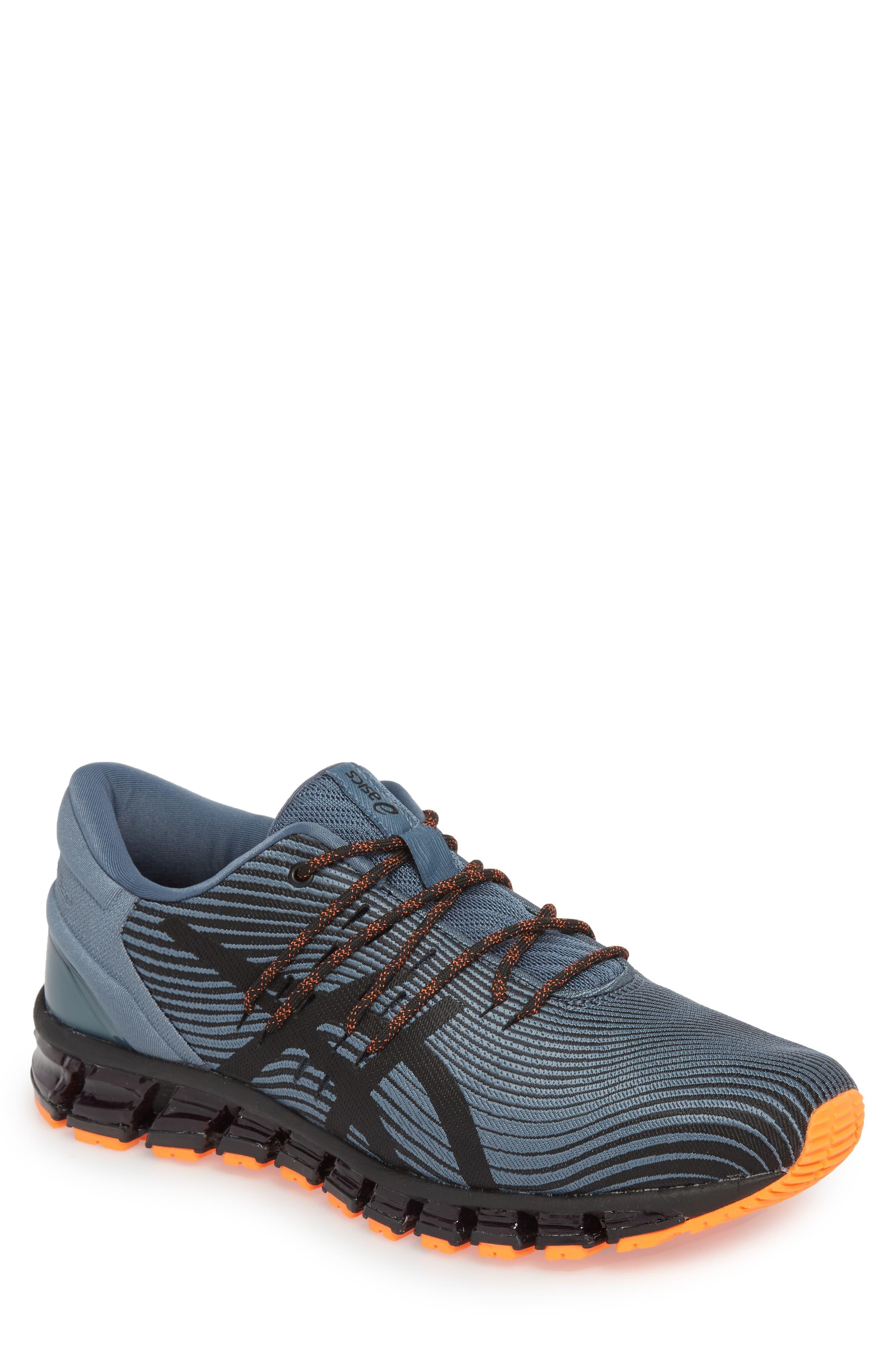 GEL-Quantum 360 4 Running Shoe,                             Main thumbnail 1, color,                             IRON CLAD/ BLACK