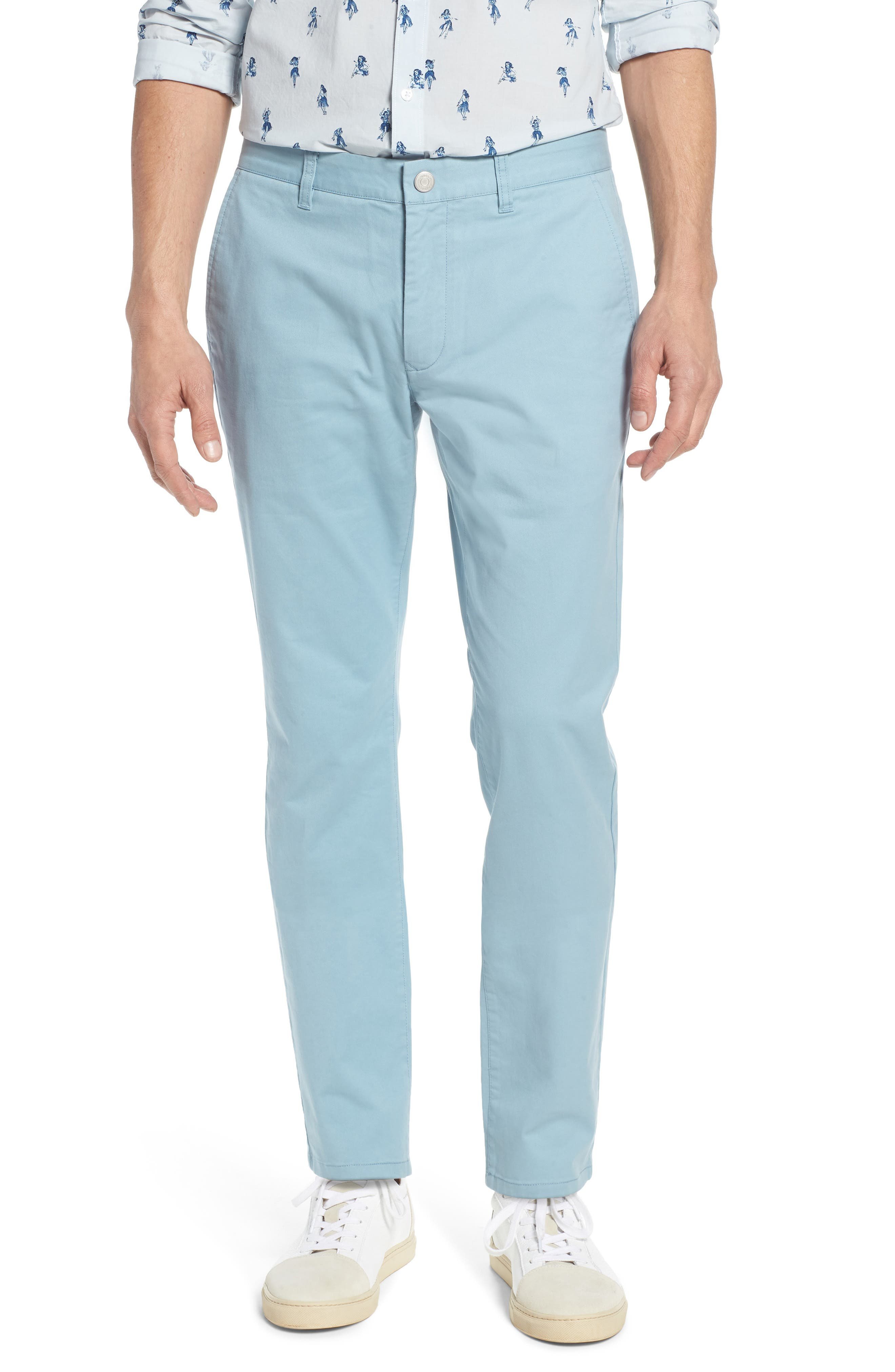 Tailored Fit Washed Stretch Cotton Chinos,                             Main thumbnail 15, color,