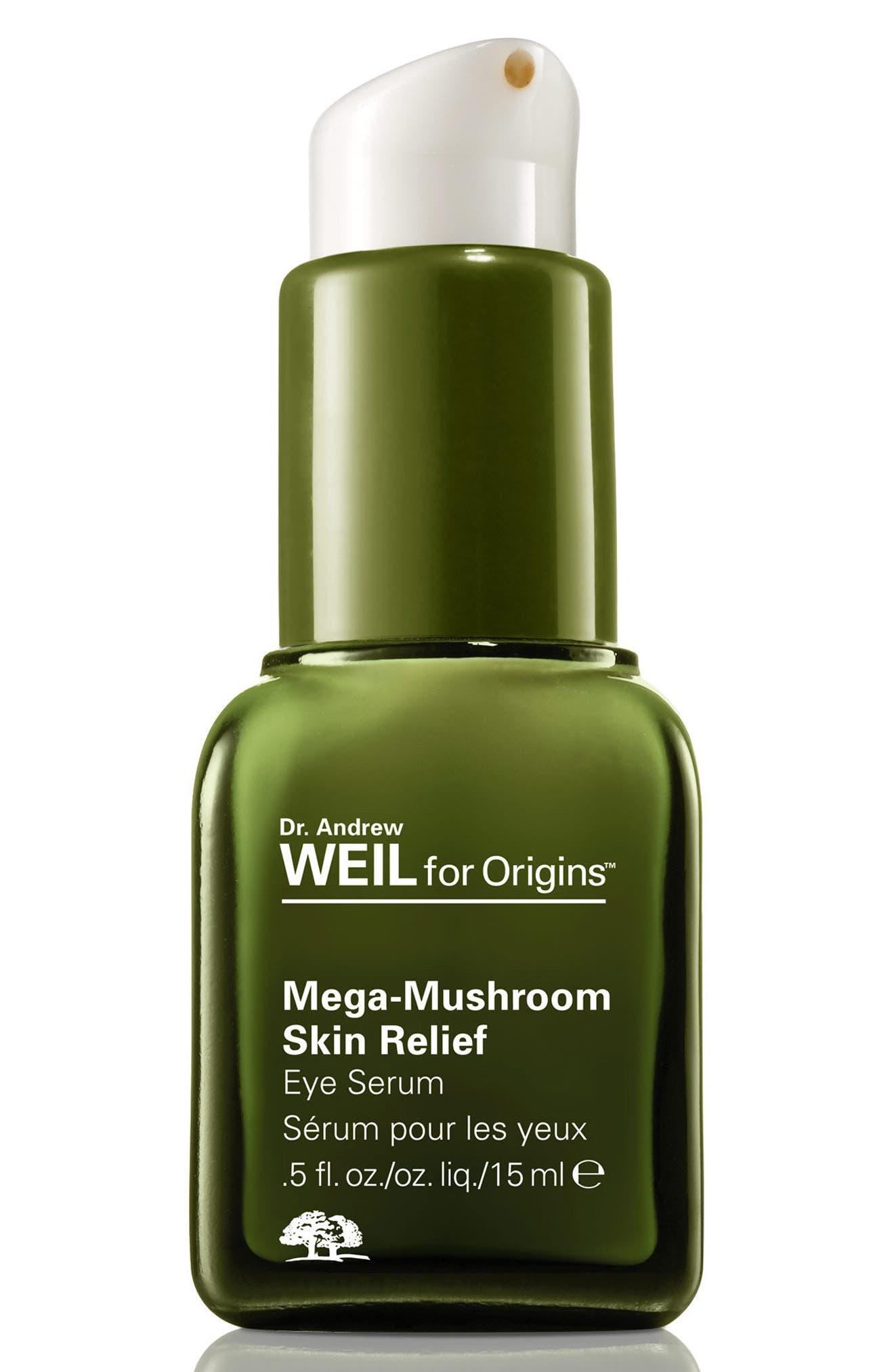 Dr. Andrew Weil for Origins<sup>™</sup> Mega-Mushroom Skin Relief Eye Serum,                         Main,                         color, NO COLOR