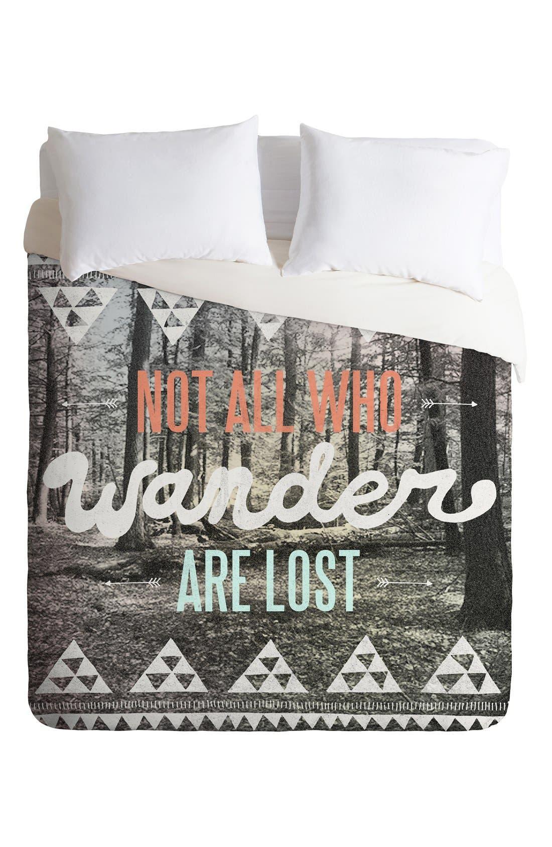 Wander Duvet Cover & Sham Set,                             Alternate thumbnail 2, color,                             020