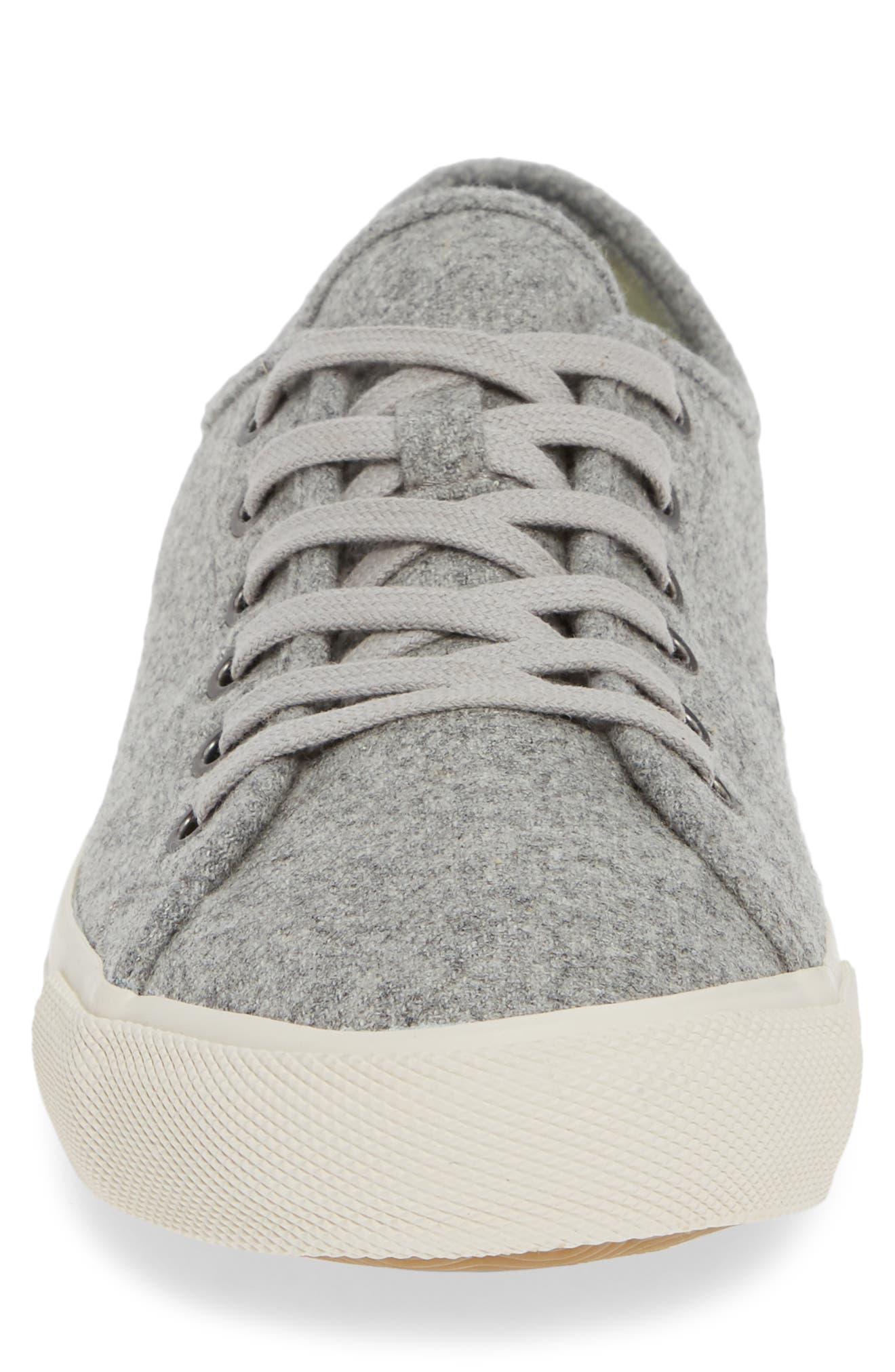 Monterey Grayers Sneaker,                             Alternate thumbnail 4, color,                             LIGHT GREY WOOL