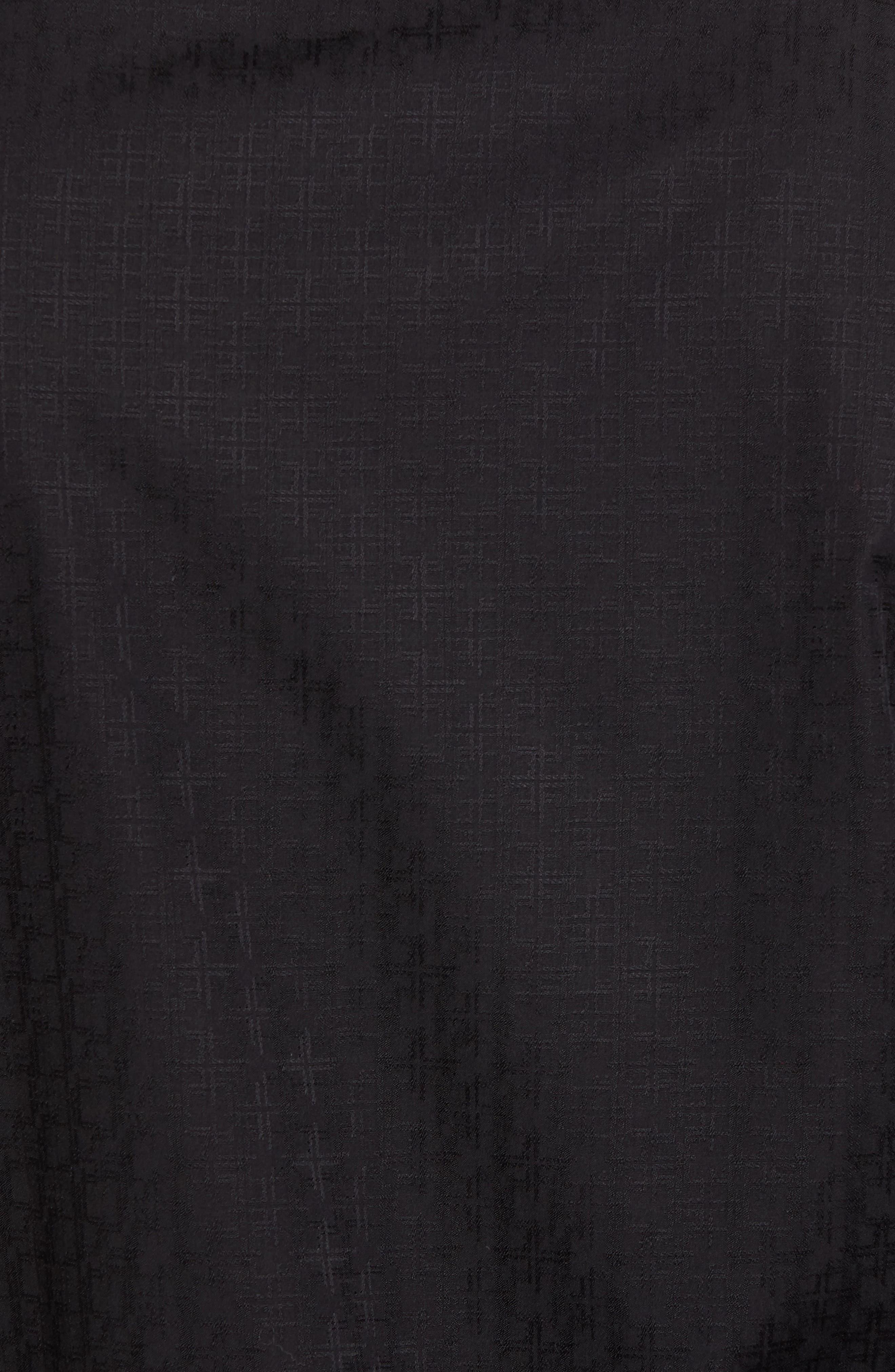 Classic Fit Check Sport Shirt,                             Alternate thumbnail 5, color,                             001