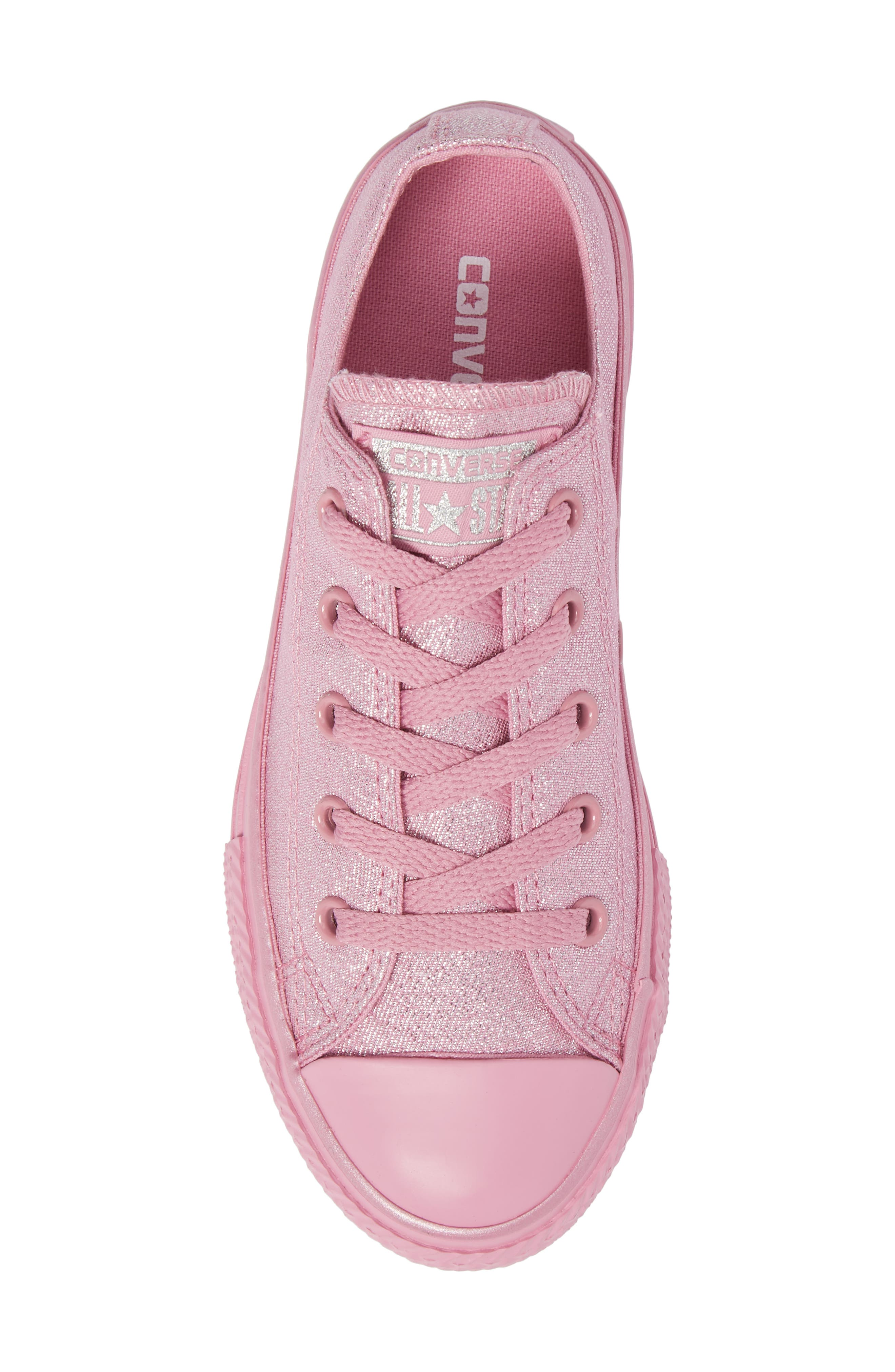 All Star<sup>®</sup> Mono Shine Low Top Sneaker,                             Alternate thumbnail 5, color,                             650