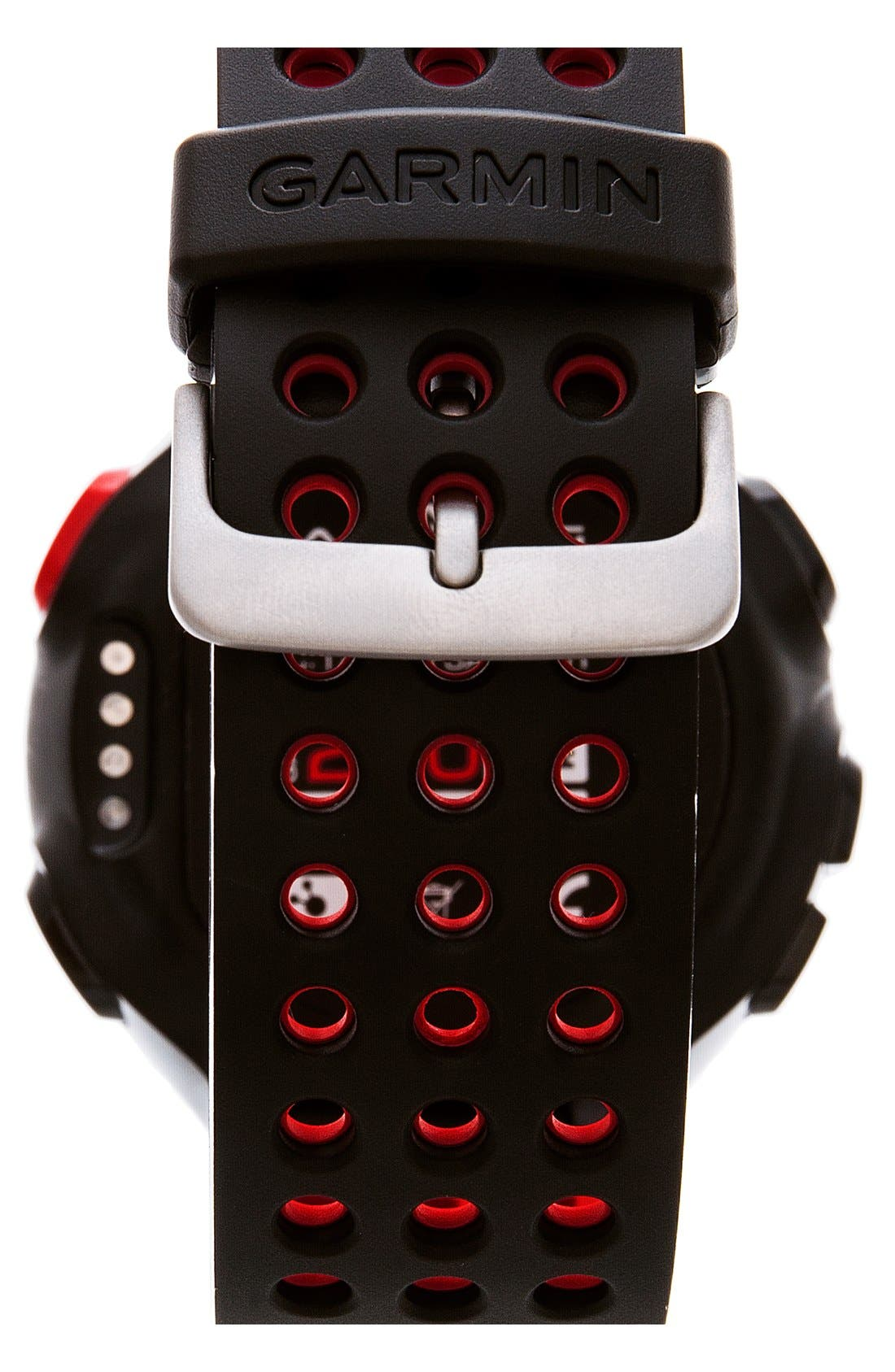 GARMIN,                             'Forerunner 220' Fitness Watch, 45mm,                             Alternate thumbnail 2, color,                             001