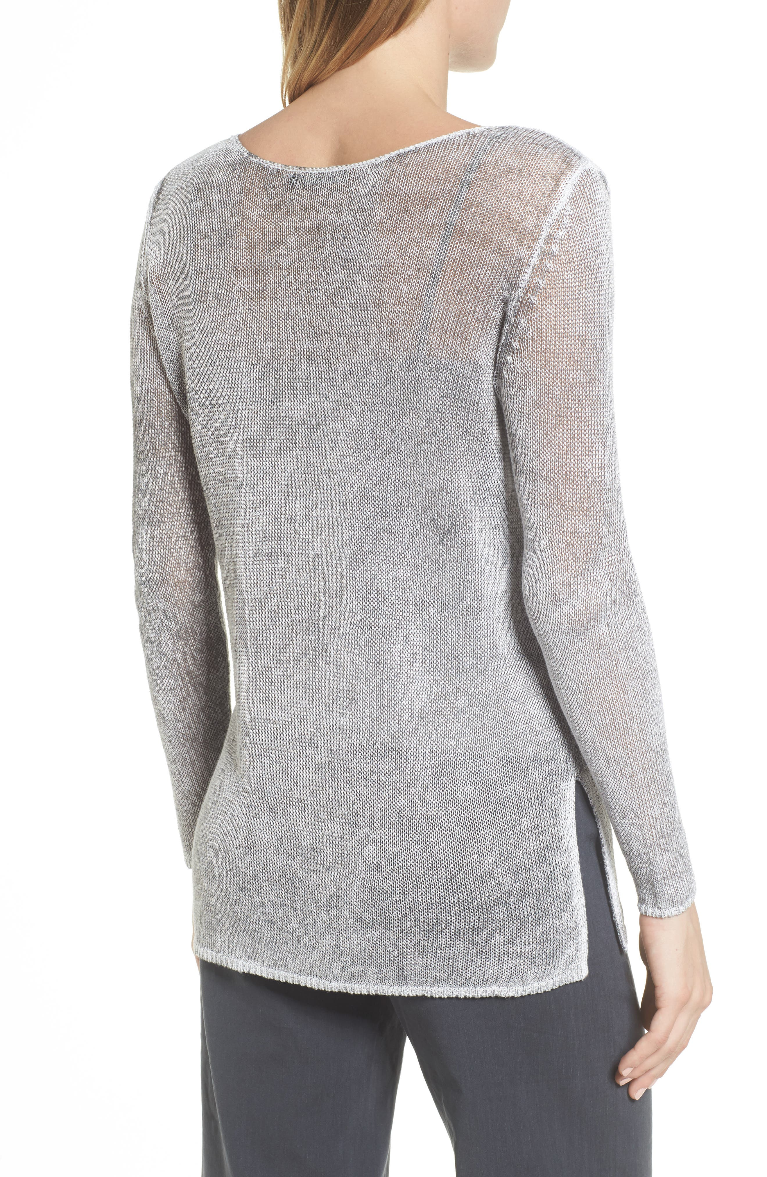 NIC + ZOE Poolside Linen Blend Sweater,                             Alternate thumbnail 2, color,                             050