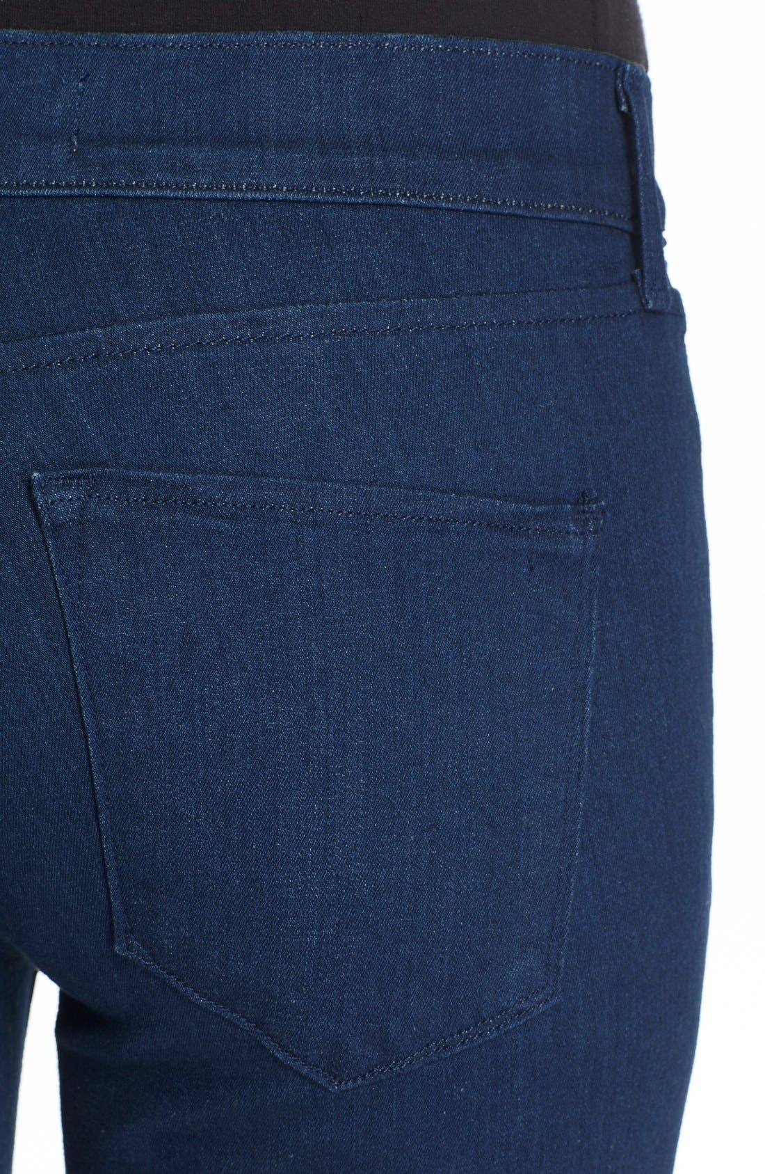 'The Skinny' Stretch Jeans,                             Alternate thumbnail 4, color,                             400