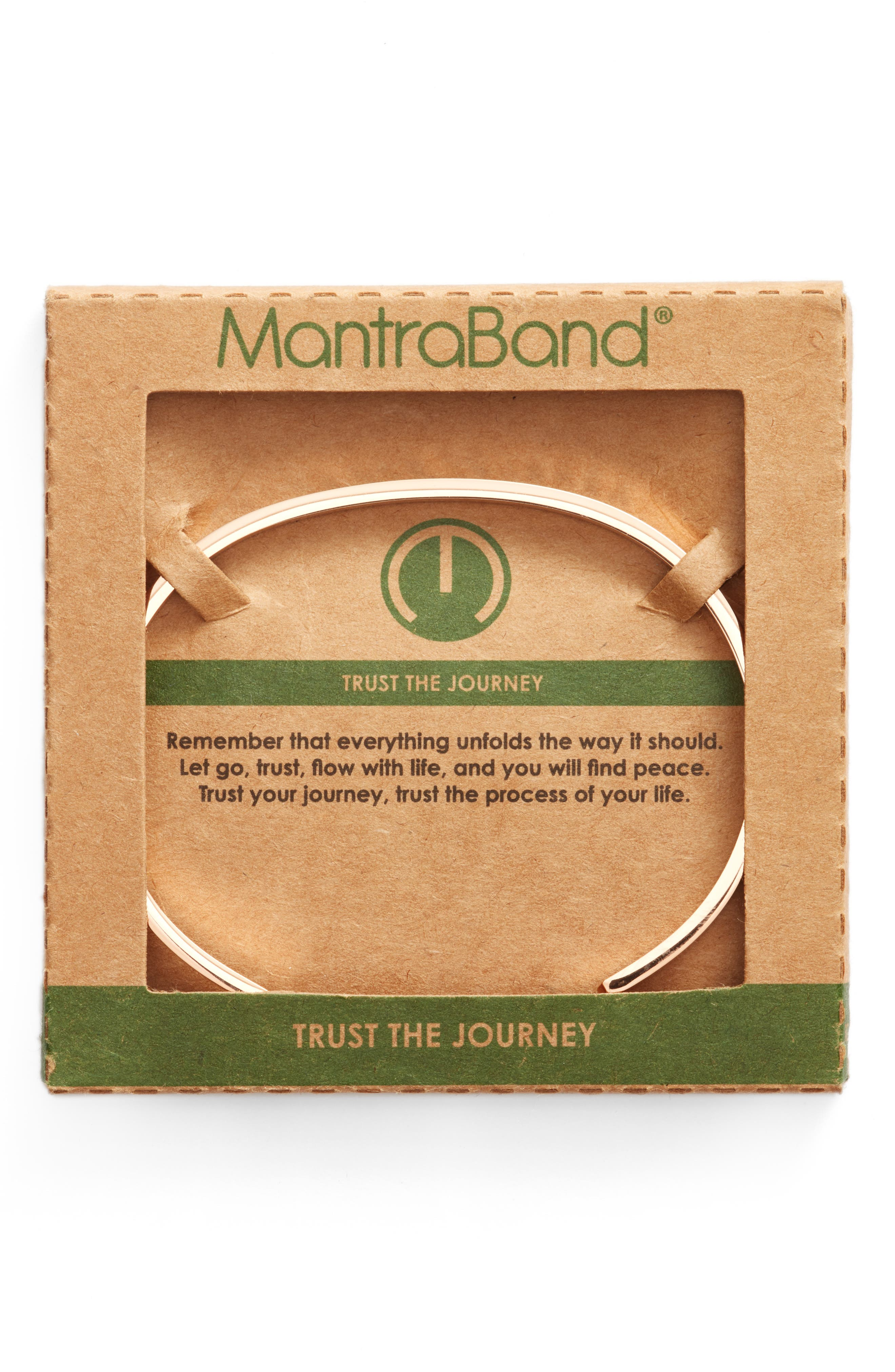 Trust the Journey Cuff,                             Alternate thumbnail 4, color,
