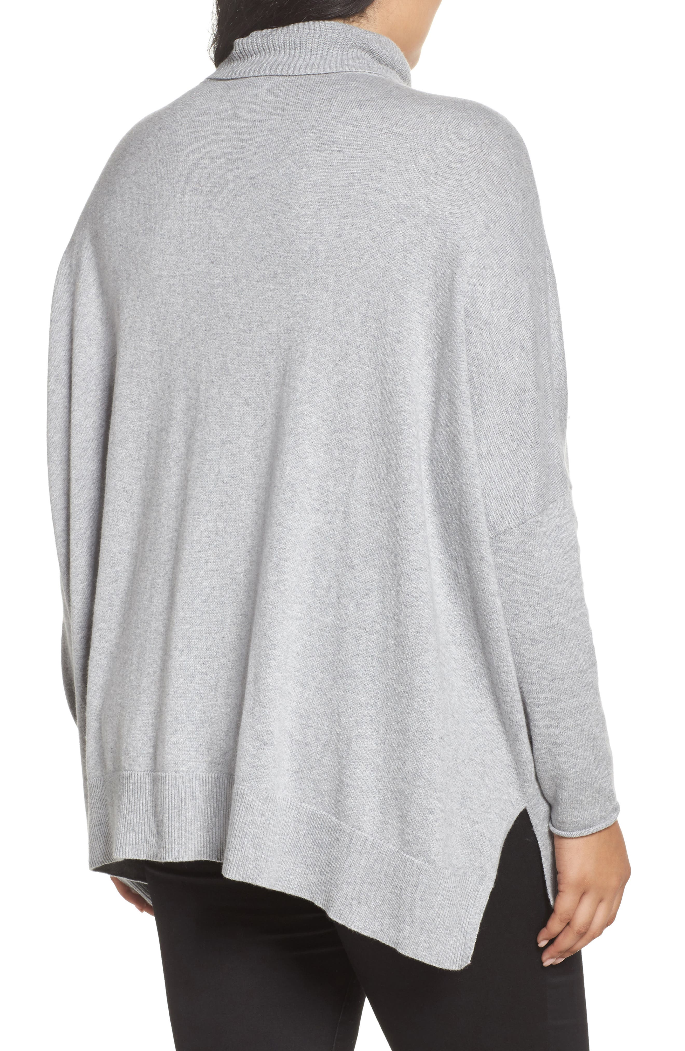 Relaxed Cotton & Cashmere Sweater,                             Alternate thumbnail 6, color,