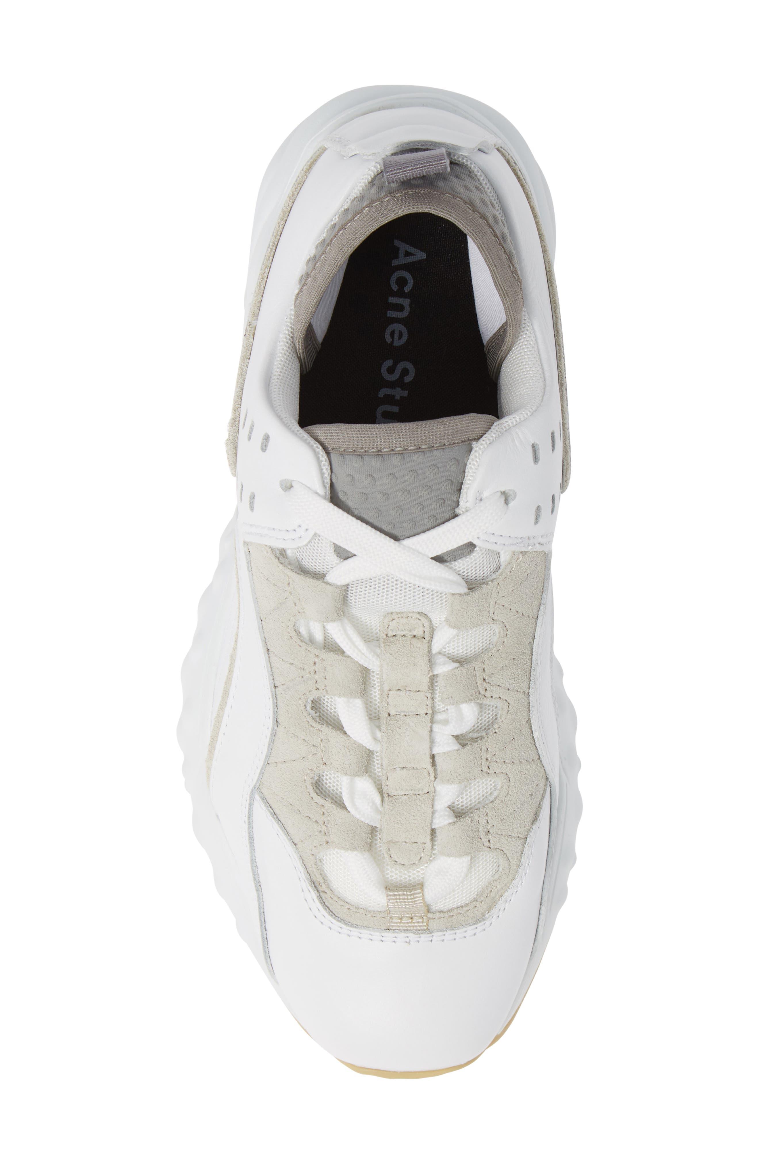 Manhattan Sneaker,                             Alternate thumbnail 5, color,                             WHITE/WHITE