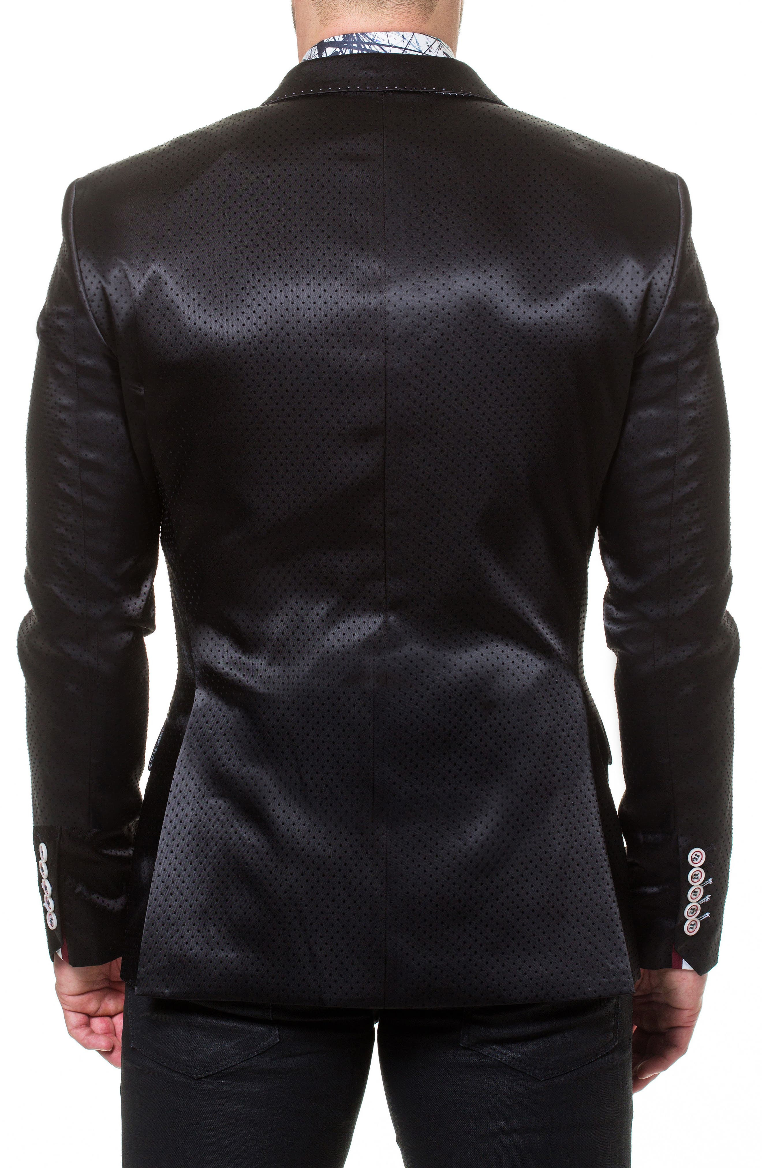 Socrate Pop Sport Coat,                             Alternate thumbnail 2, color,                             BLACK