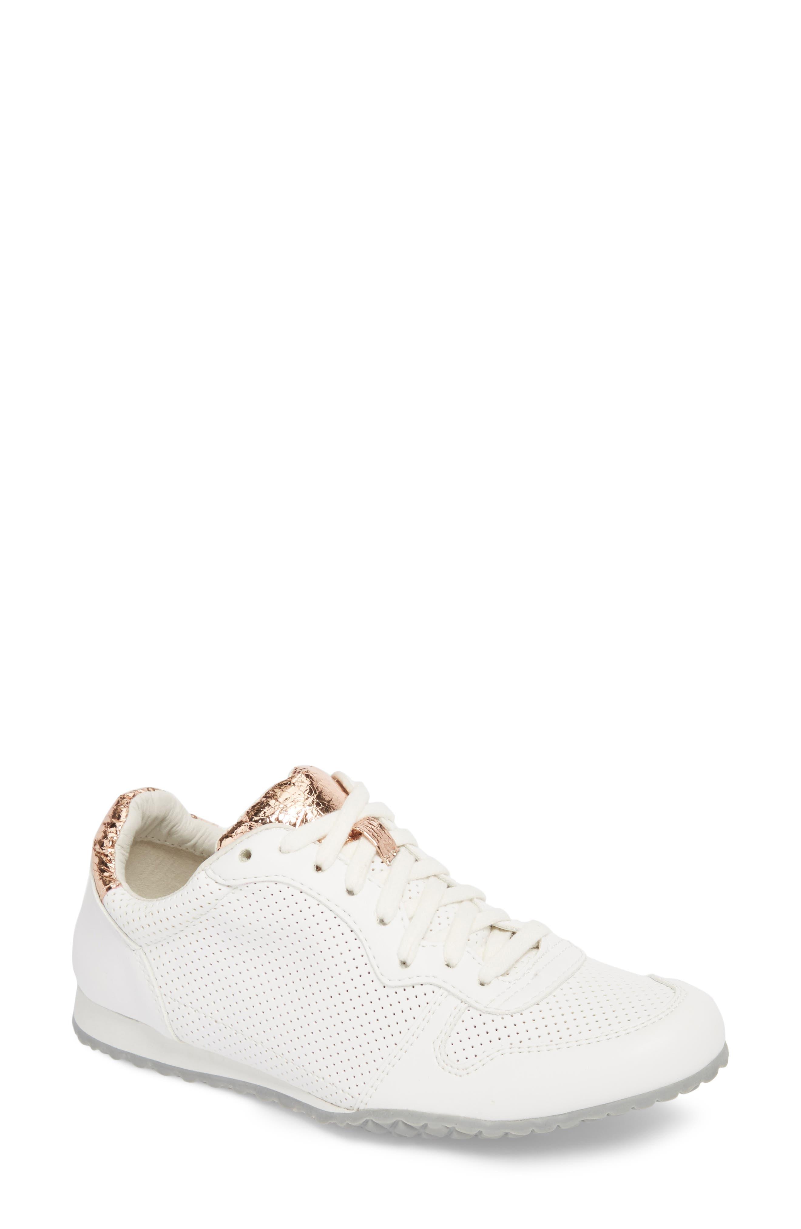 Joanna Perforated Sneaker,                             Main thumbnail 1, color,                             124