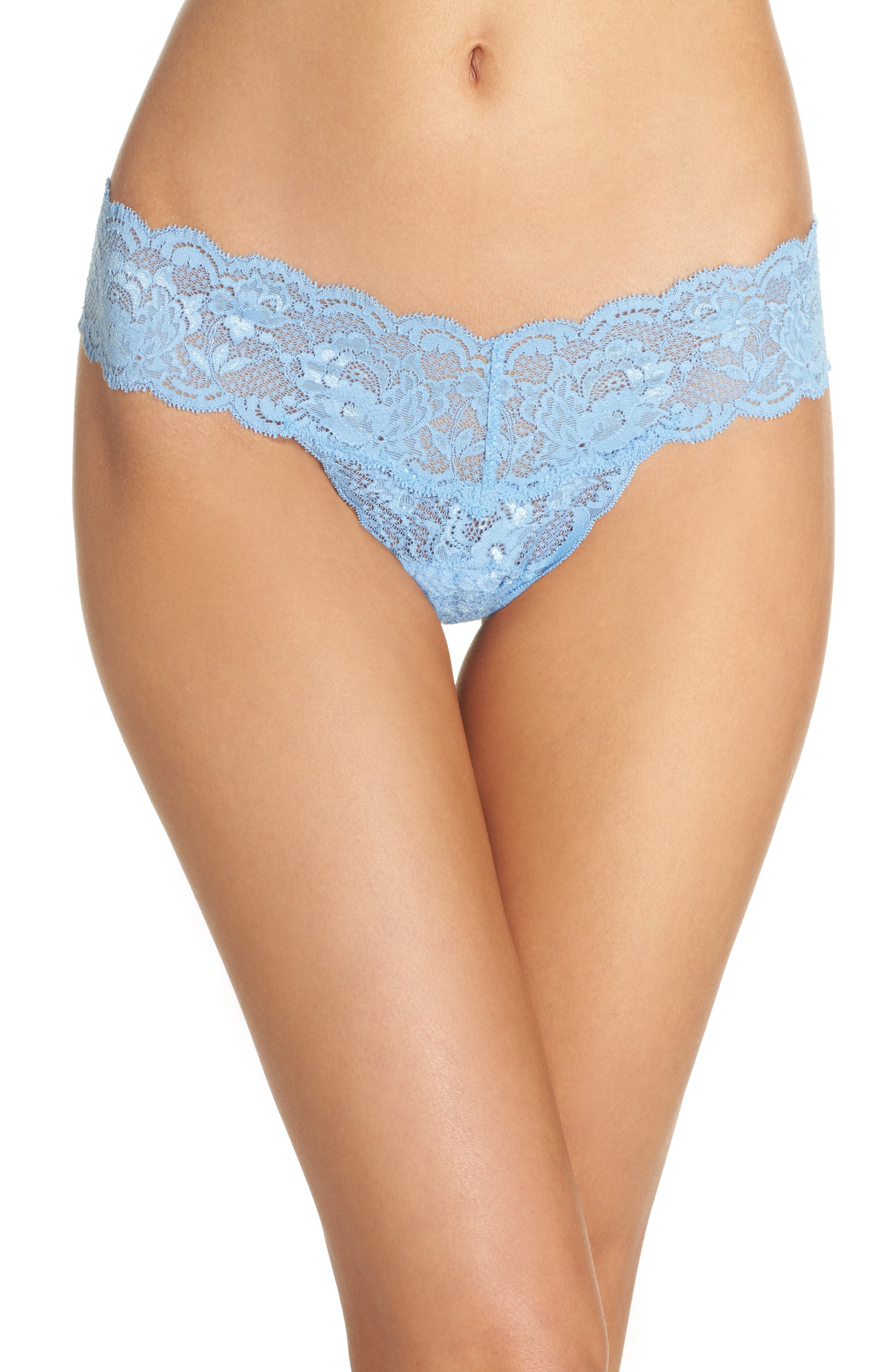 'Never Say Never Cutie' Thong,                             Alternate thumbnail 118, color,