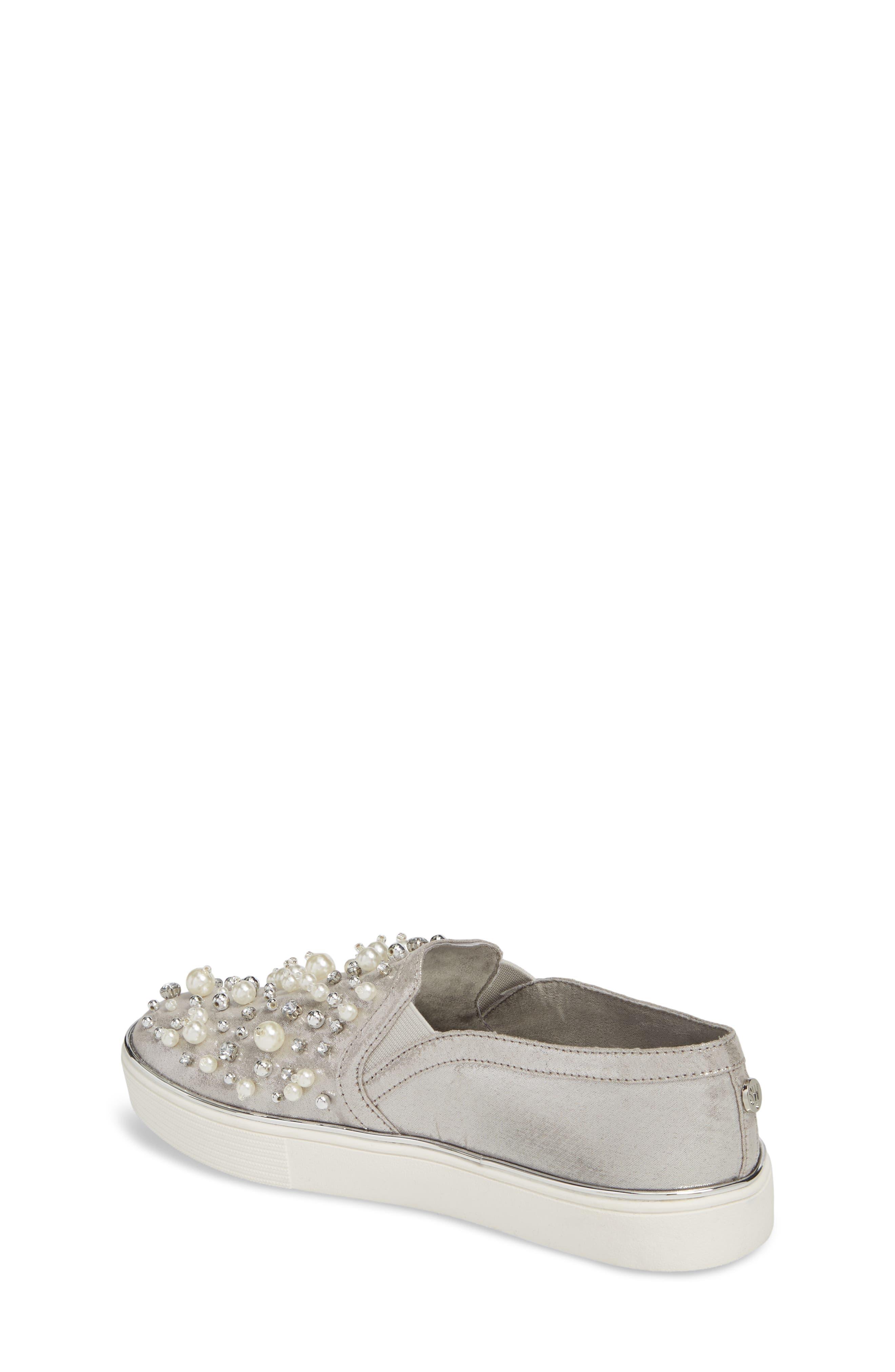 Vance Glitz Embellished Slip-On Sneaker,                             Alternate thumbnail 2, color,                             044