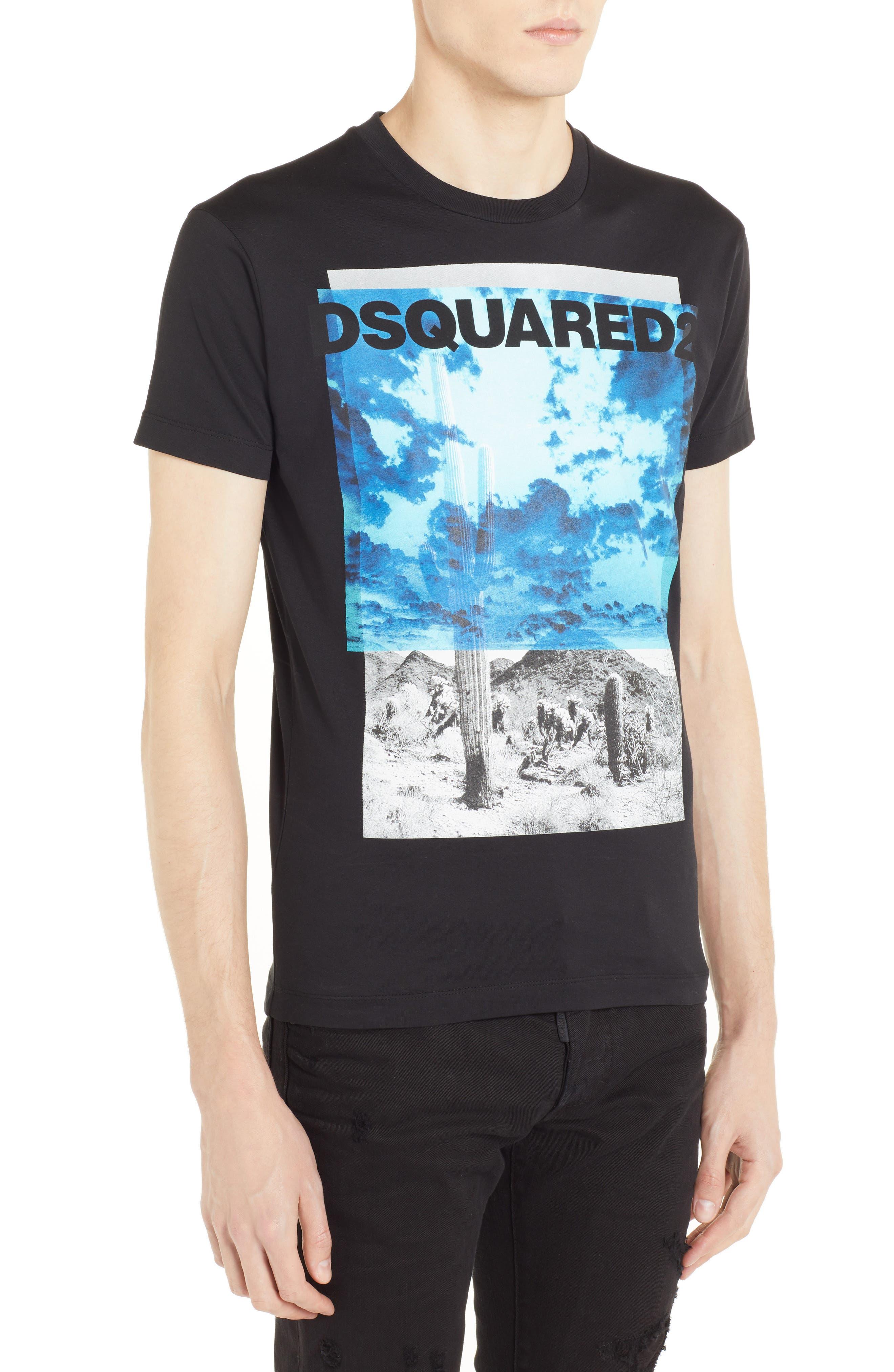 Picture Graphic T-Shirt,                             Alternate thumbnail 3, color,                             001