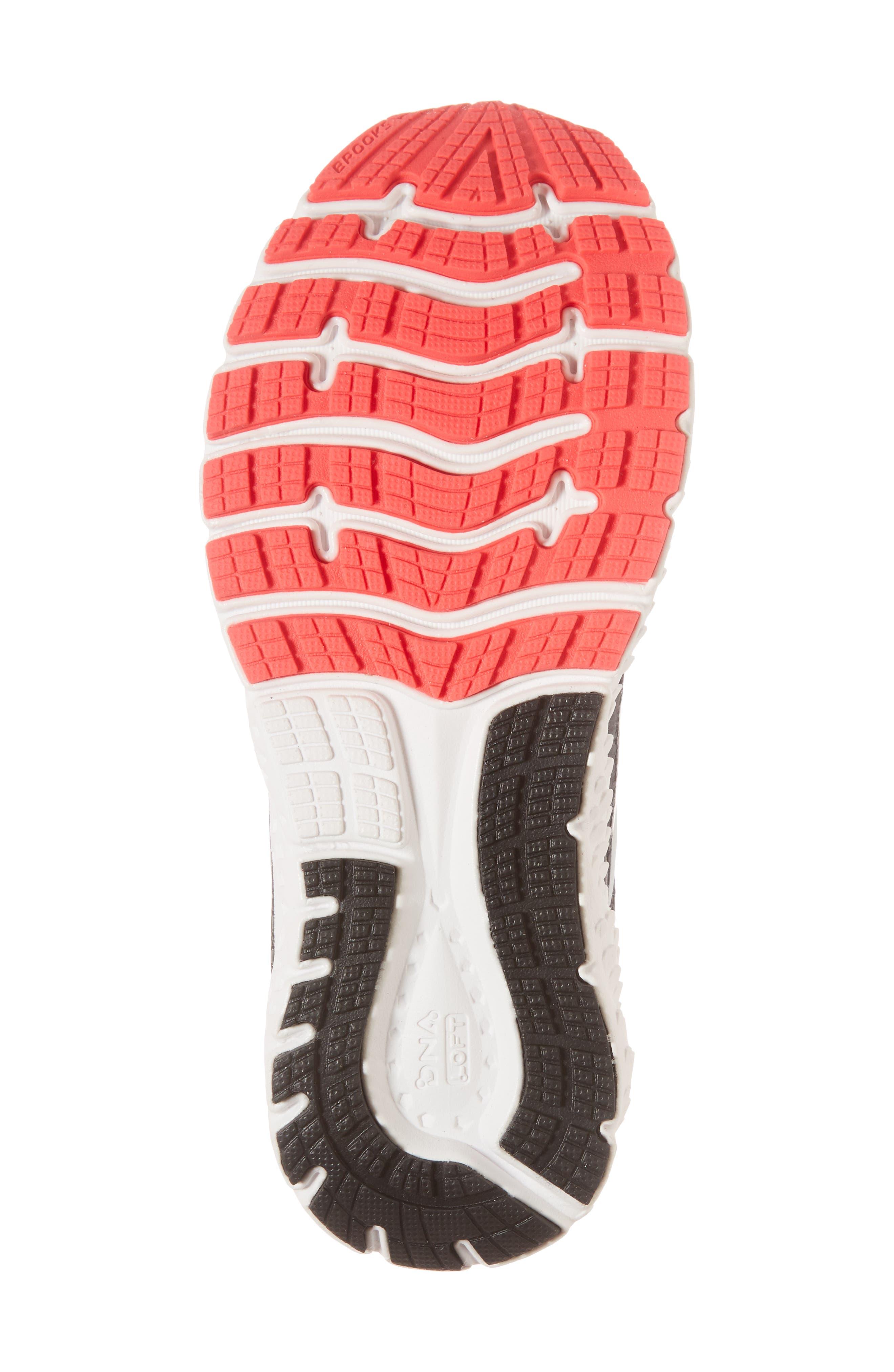 Glycerin 16 Running Shoe,                             Alternate thumbnail 6, color,                             BLACK/ PINK/ GREY
