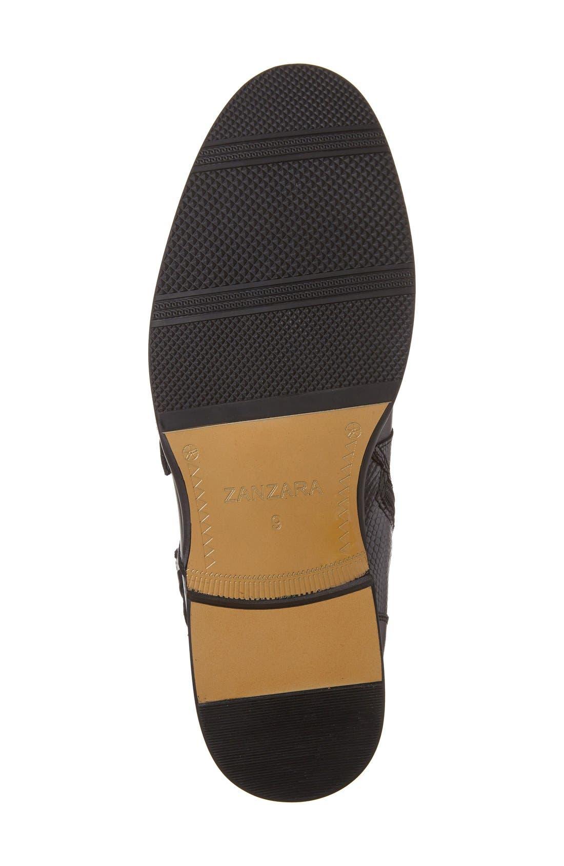 'Messina' Zip Boot,                             Alternate thumbnail 7, color,