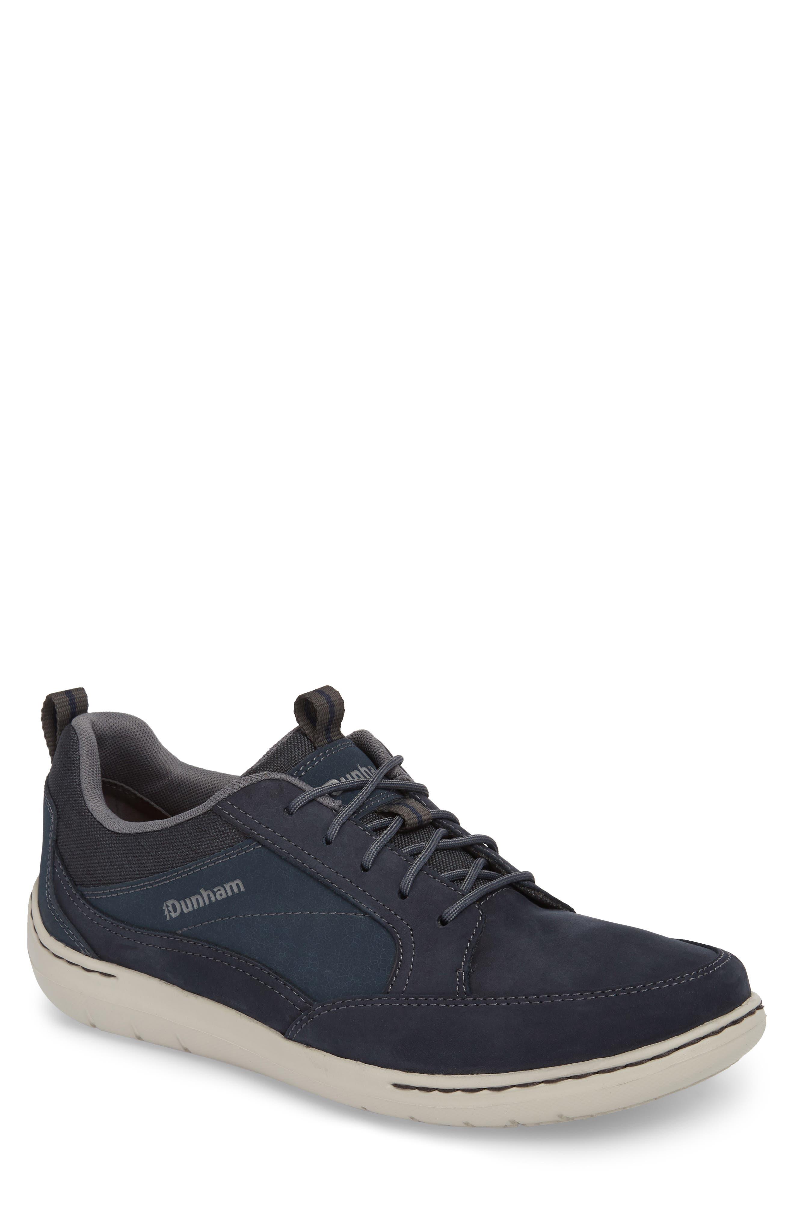 Dunham D Fit Smart Sneaker, EE - Blue