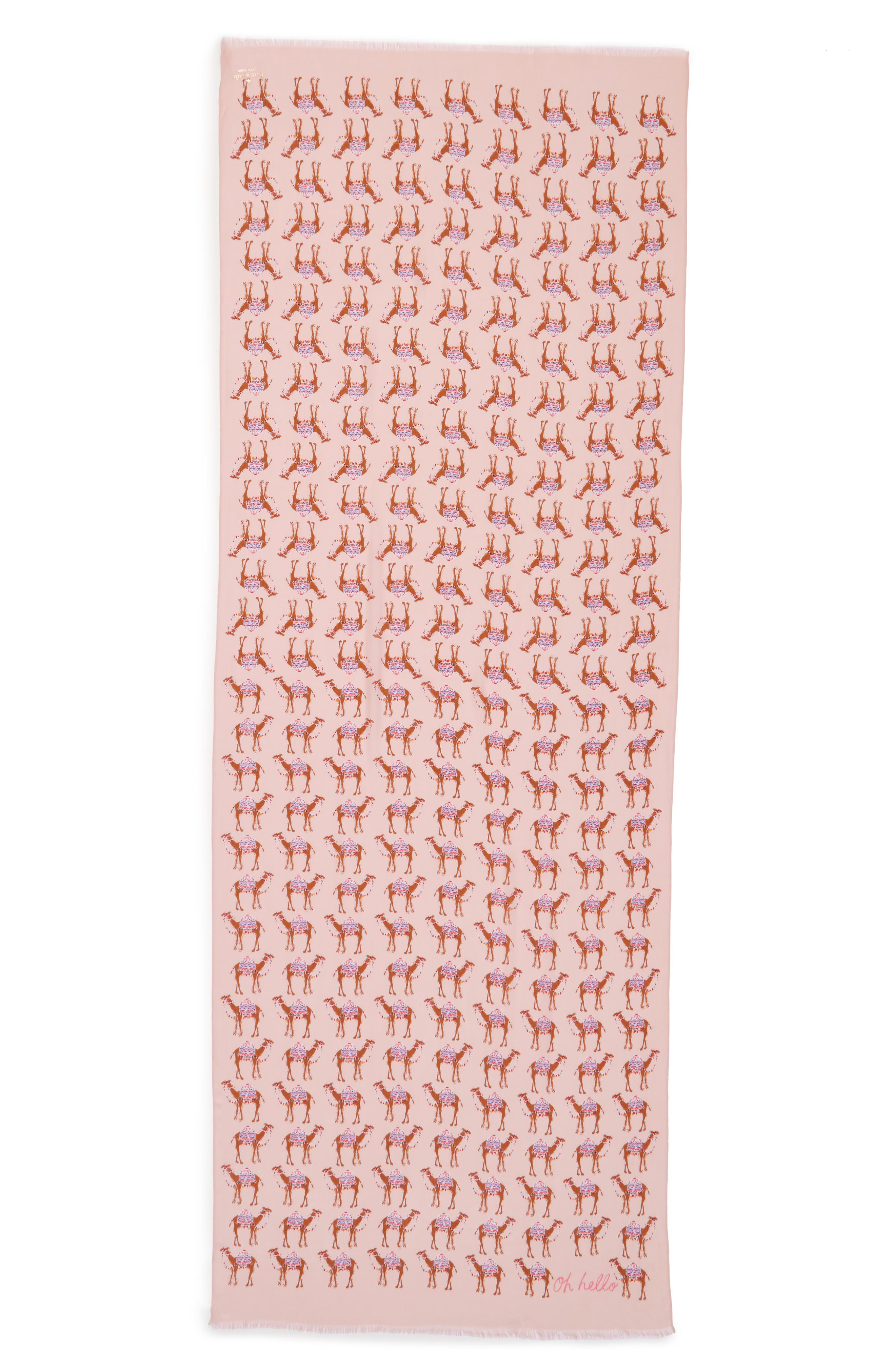 camel march scarf,                             Alternate thumbnail 2, color,                             666