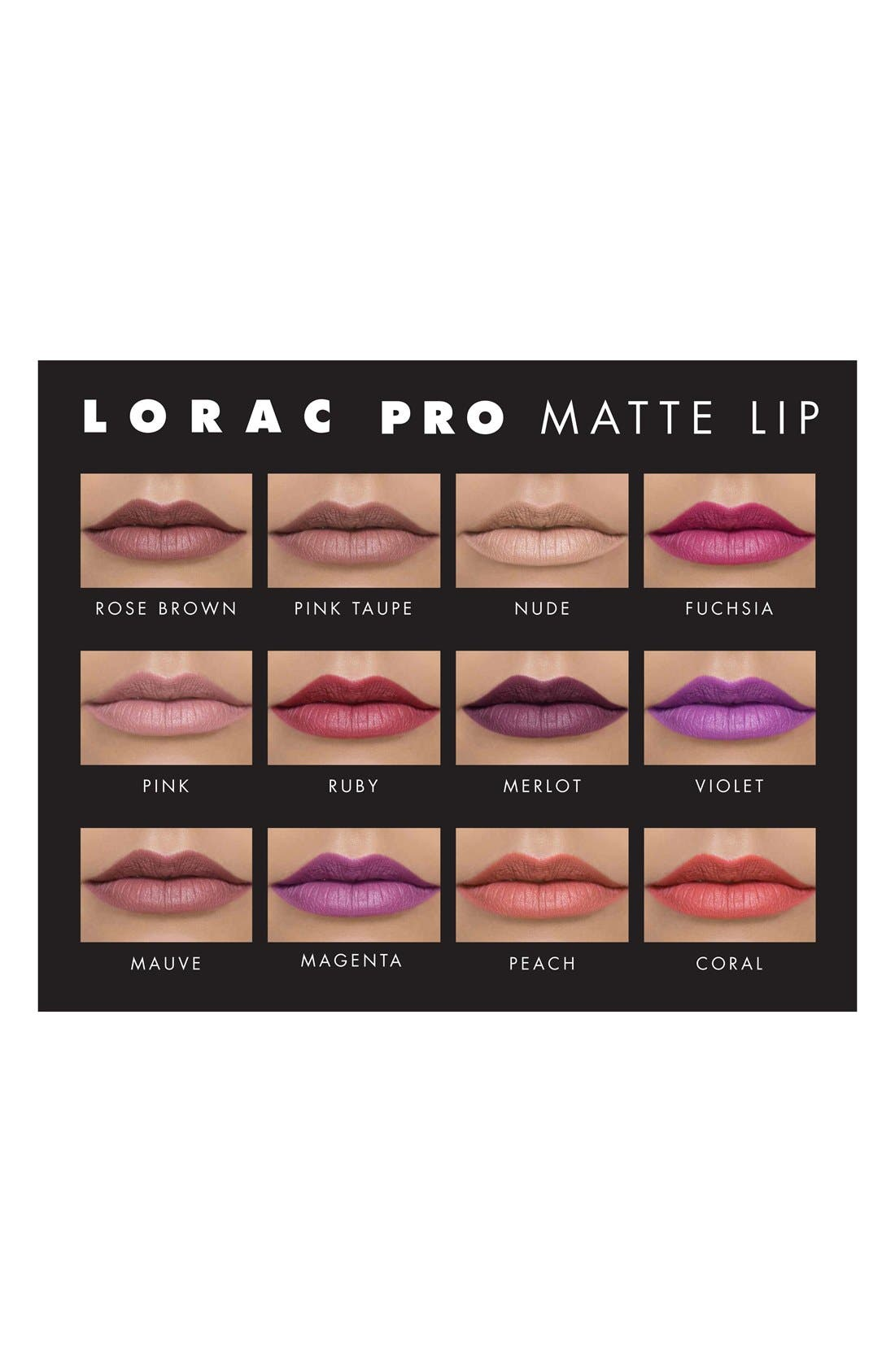 'PRO Matte' Lip Color,                             Alternate thumbnail 2, color,                             NUDE