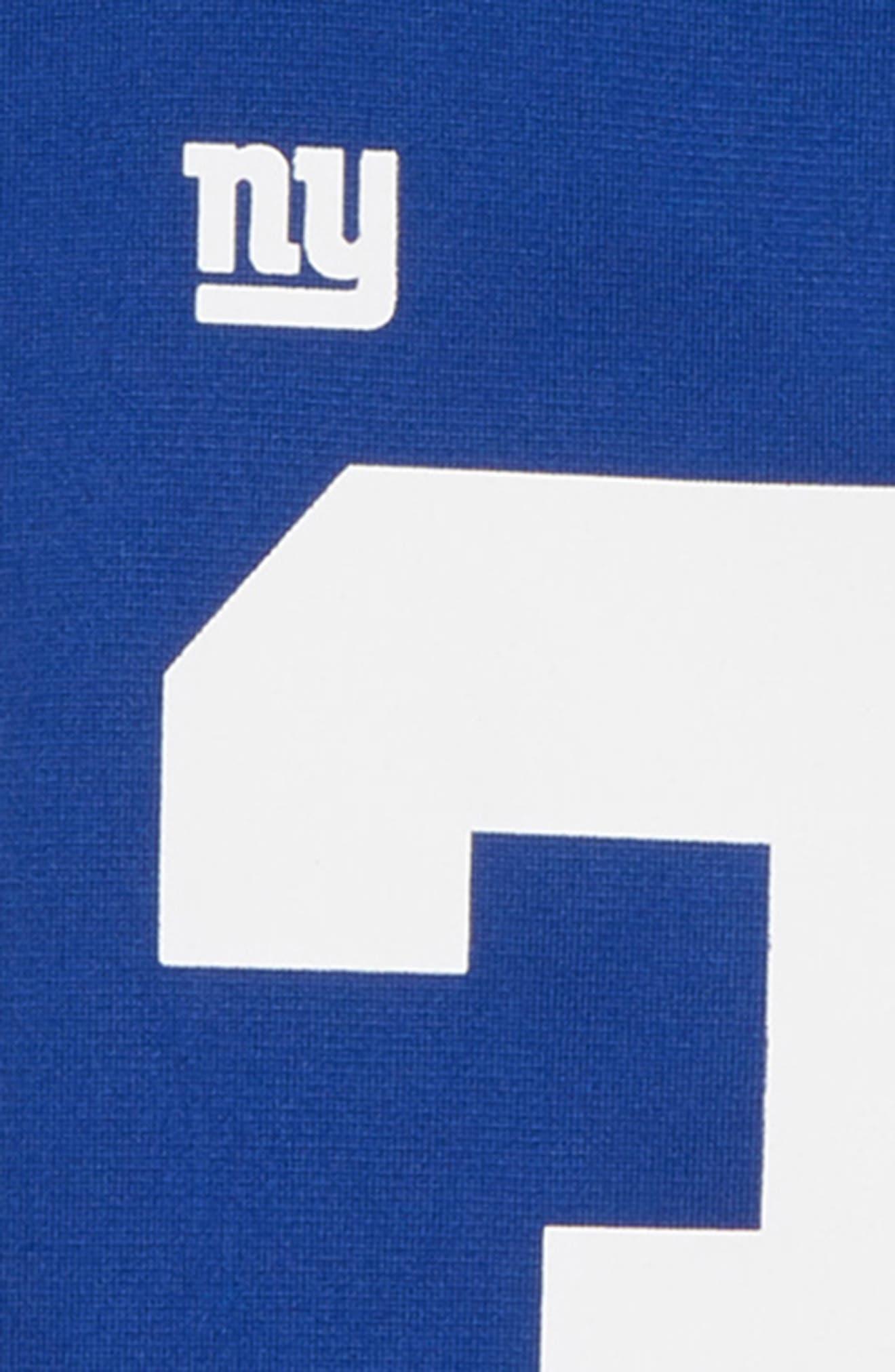 NFL Logo New York Giants Odell Beckham Jersey,                             Alternate thumbnail 3, color,                             ROYAL
