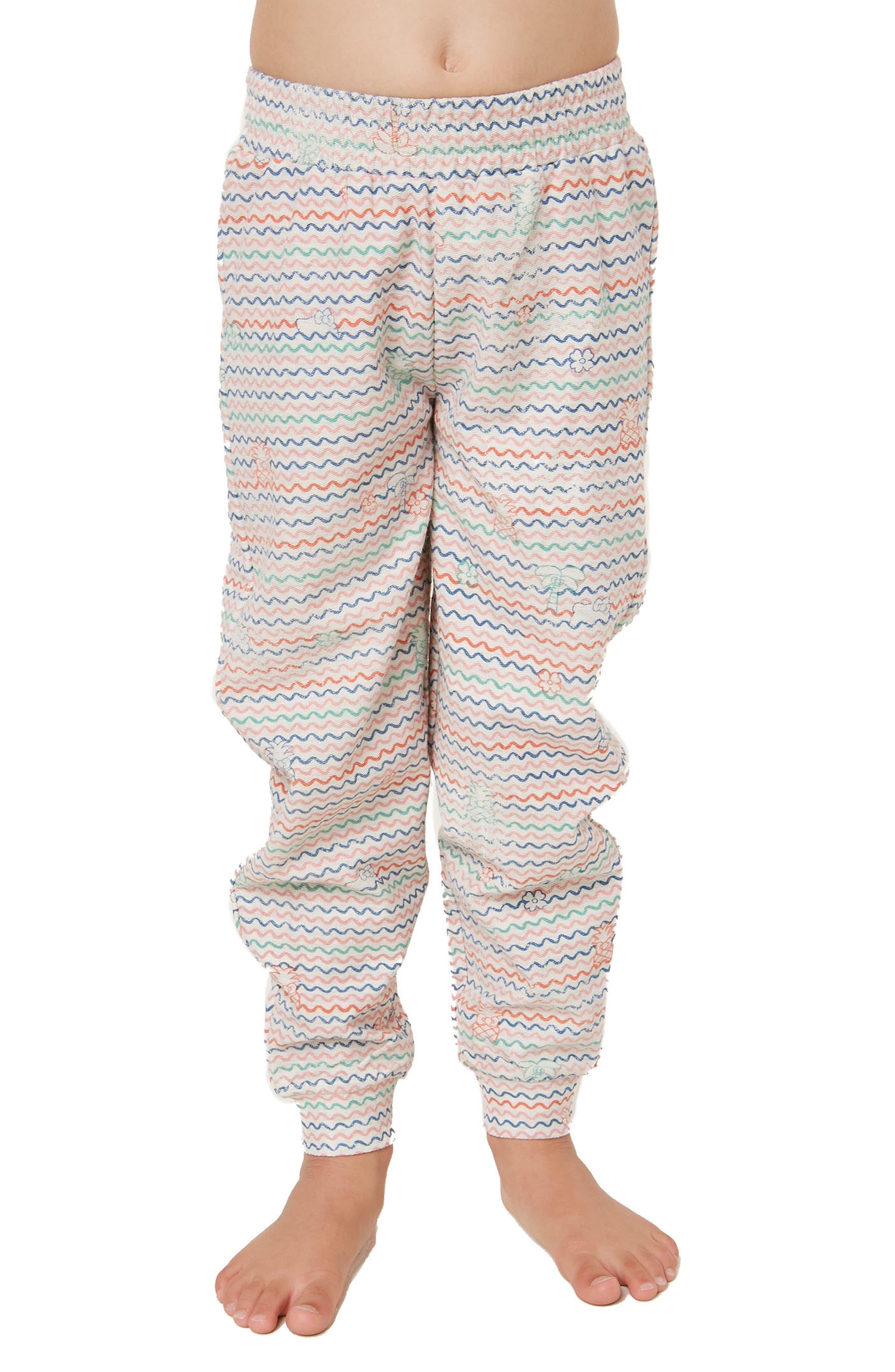 x Hello Kitty<sup>®</sup> Tropical Treasures Fleece Pants,                             Alternate thumbnail 2, color,                             250