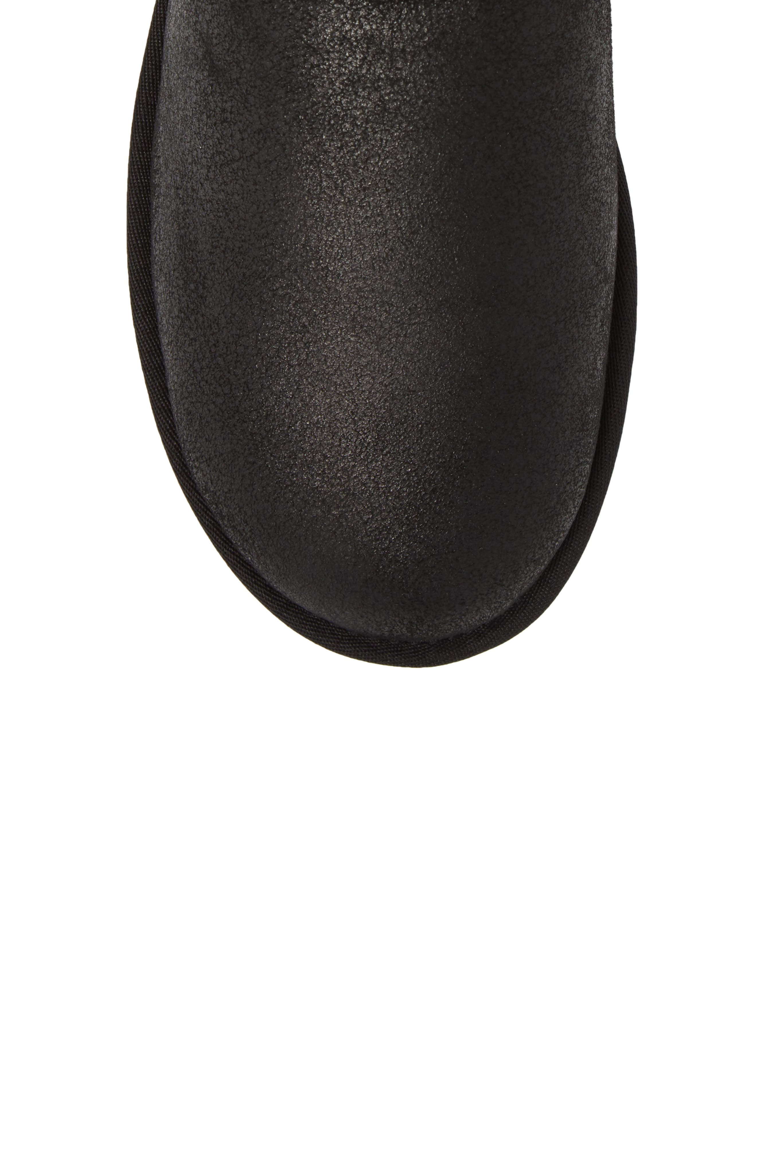 Classic Mini Bomber Boot with Genuine Shearling or UGGpure<sup>™</sup> Lining,                             Alternate thumbnail 5, color,                             BOMBER JACKET BLACK