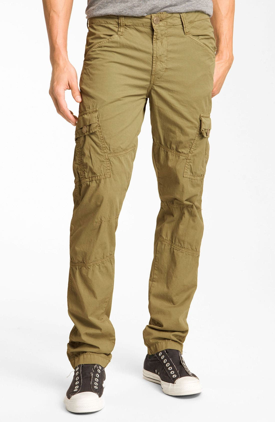 'Trooper' Slim Lightweight Cargo Pants, Main, color, 247