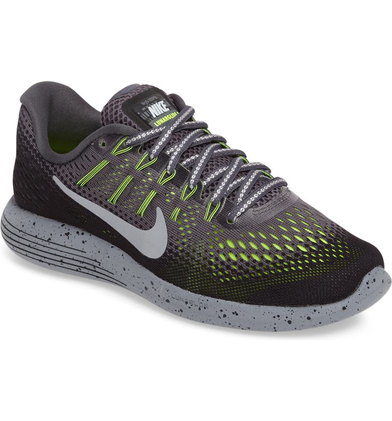 low priced f031d 9a308 NIKE LunarGlide 8 Shield Running Shoe, Main, color, 007