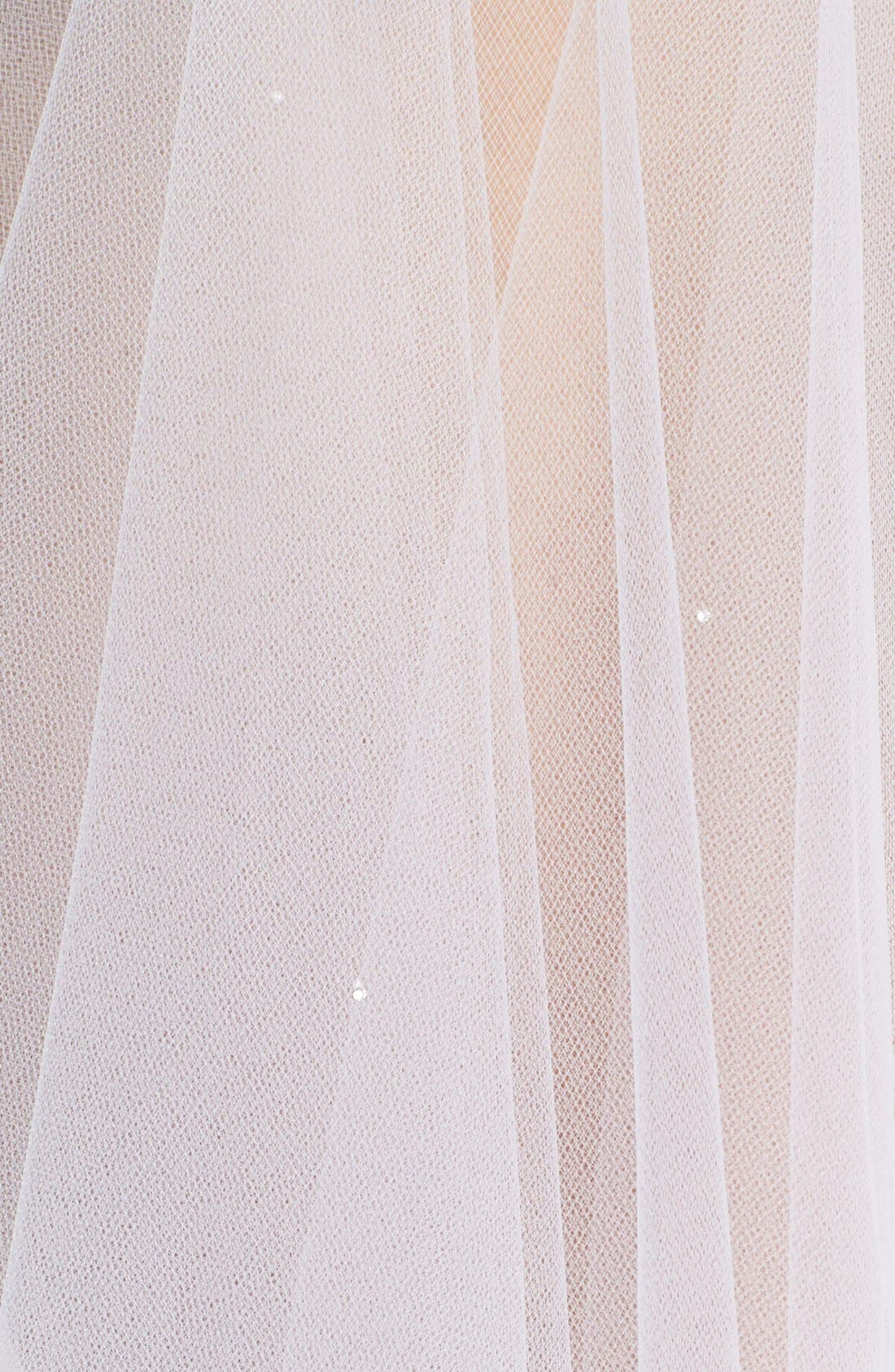 'Madeline - Crystal' Two Tier Veil,                             Alternate thumbnail 6, color,